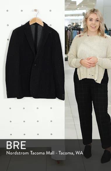 White Solid Cotton Blend Sport Coat, sales video thumbnail