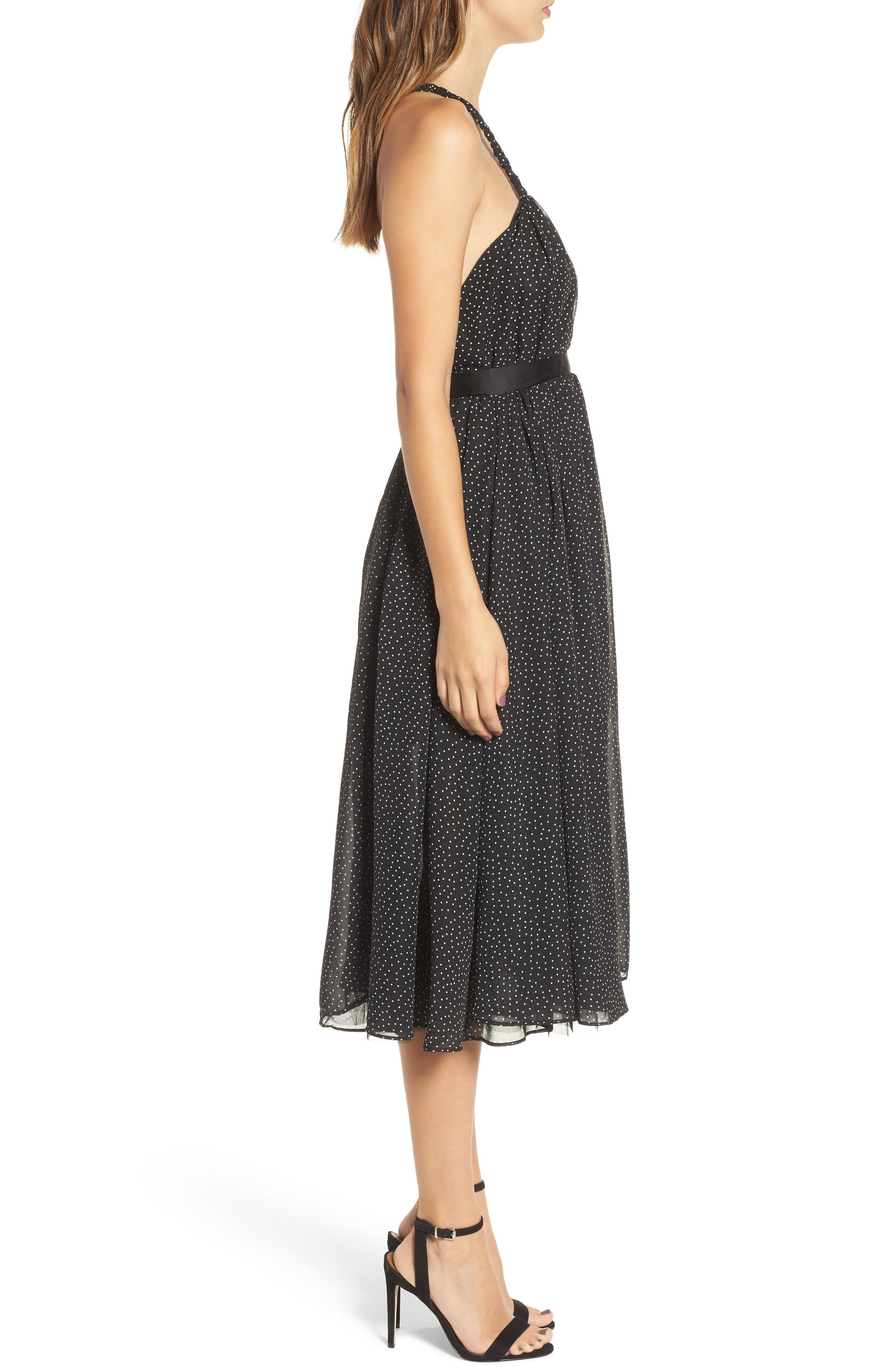 The Marilyn Midi Dress,                             Alternate thumbnail 3, color,                             009