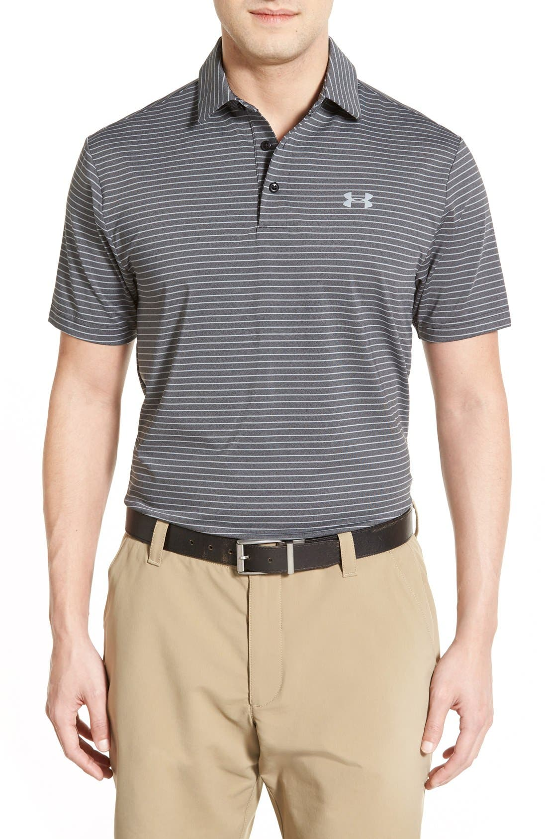 'Playoff' Loose Fit Short Sleeve Polo,                             Main thumbnail 11, color,