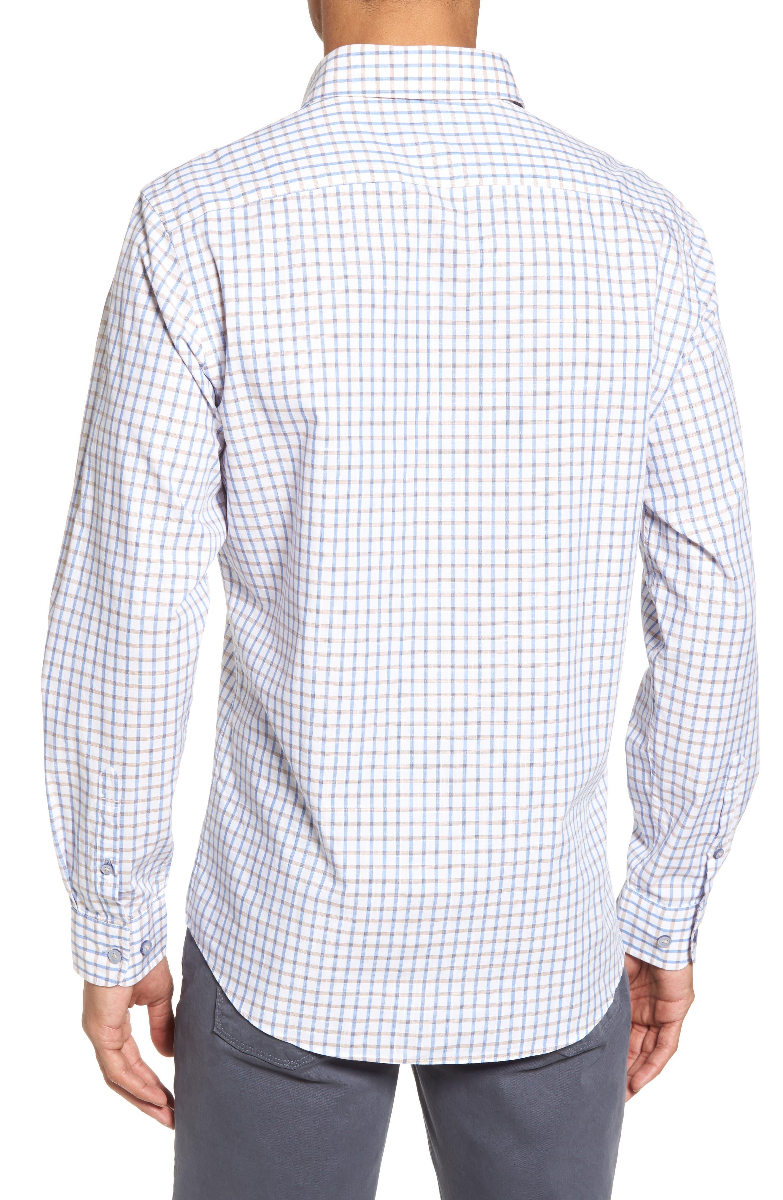 Mount Edward Check Sport Shirt,                             Alternate thumbnail 2, color,                             111