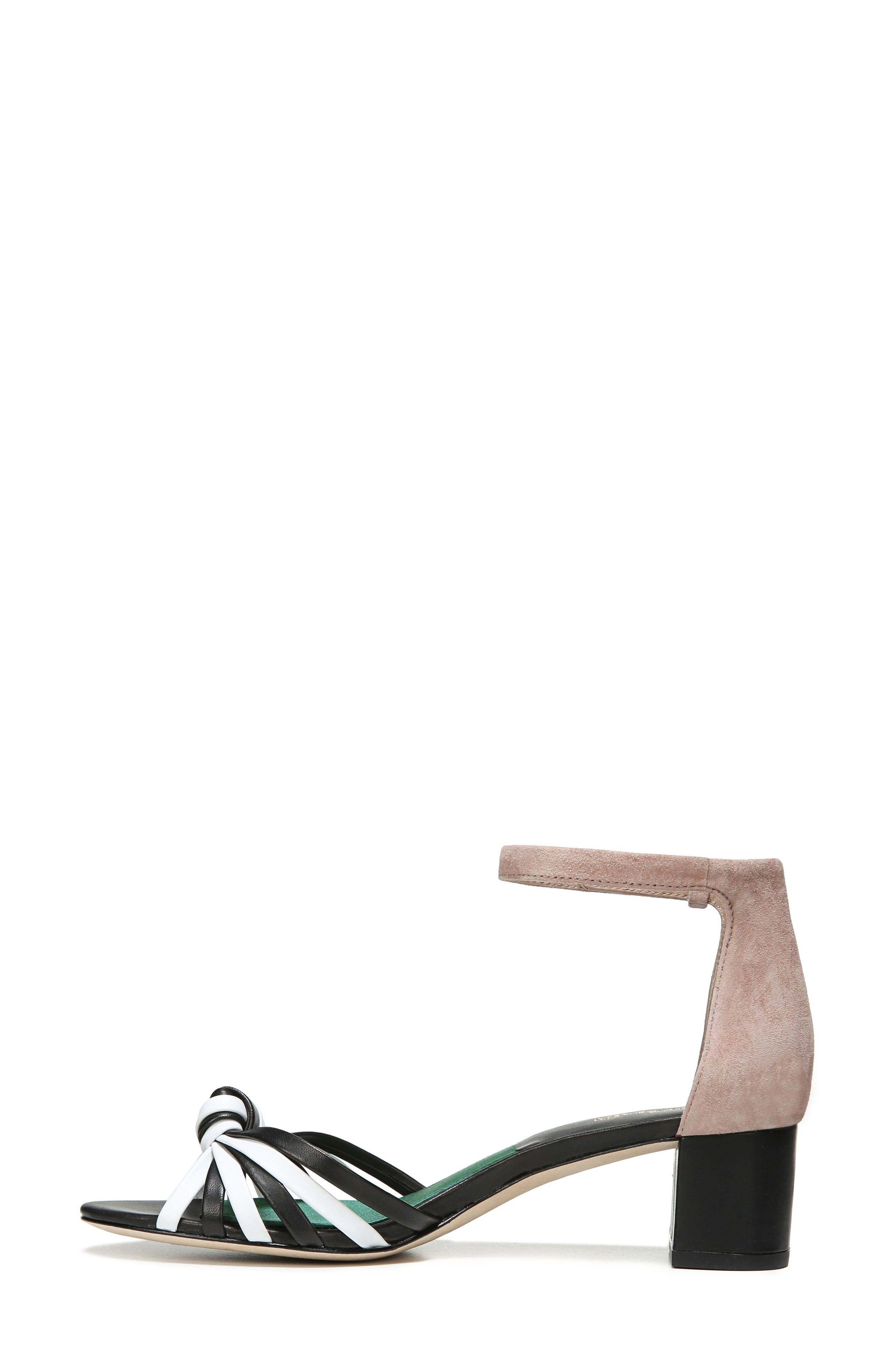 Fonseca Ankle Strap Sandal,                             Alternate thumbnail 3, color,                             001