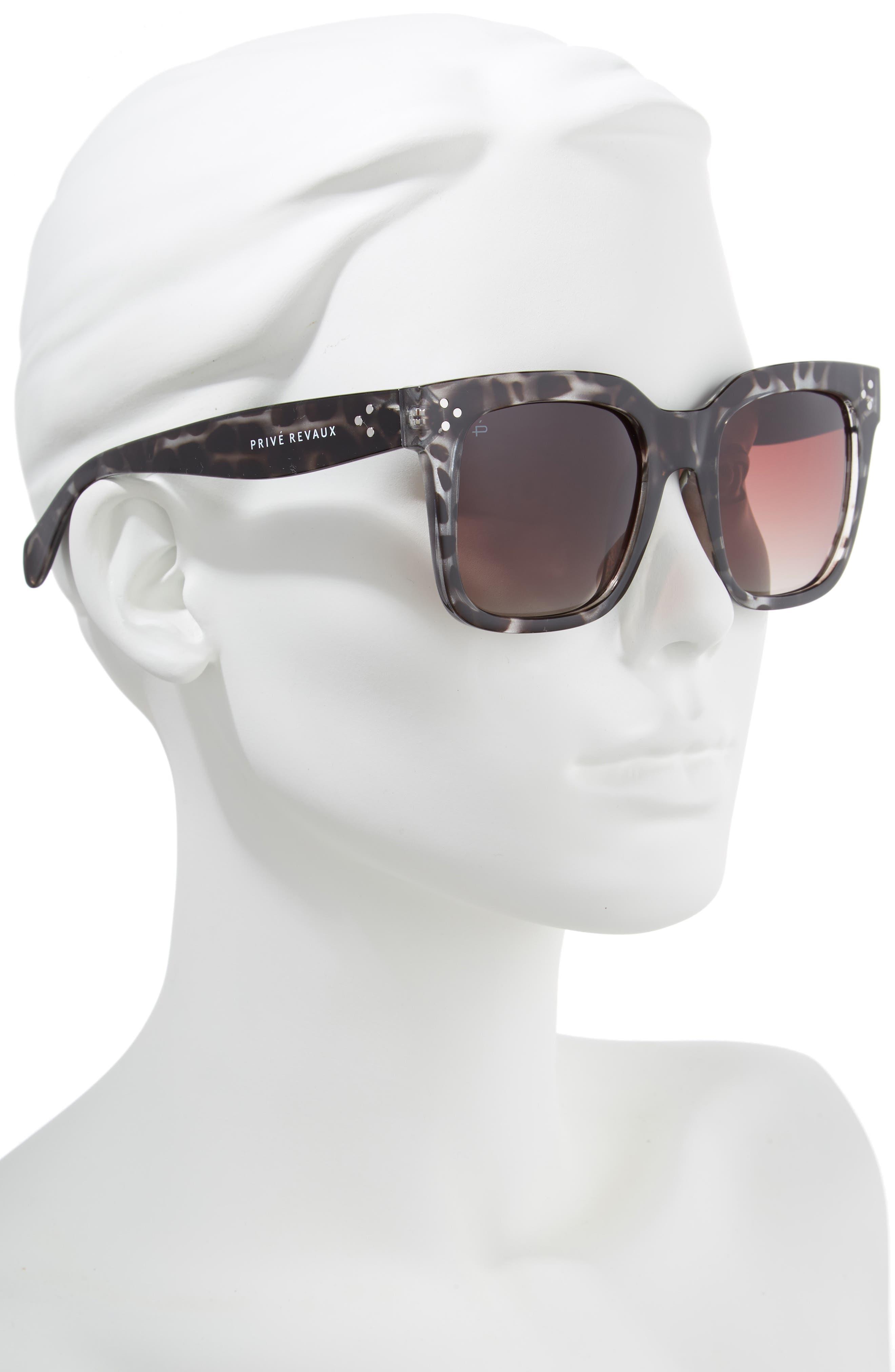 The Heroine 53mm Sunglasses,                             Alternate thumbnail 2, color,                             200