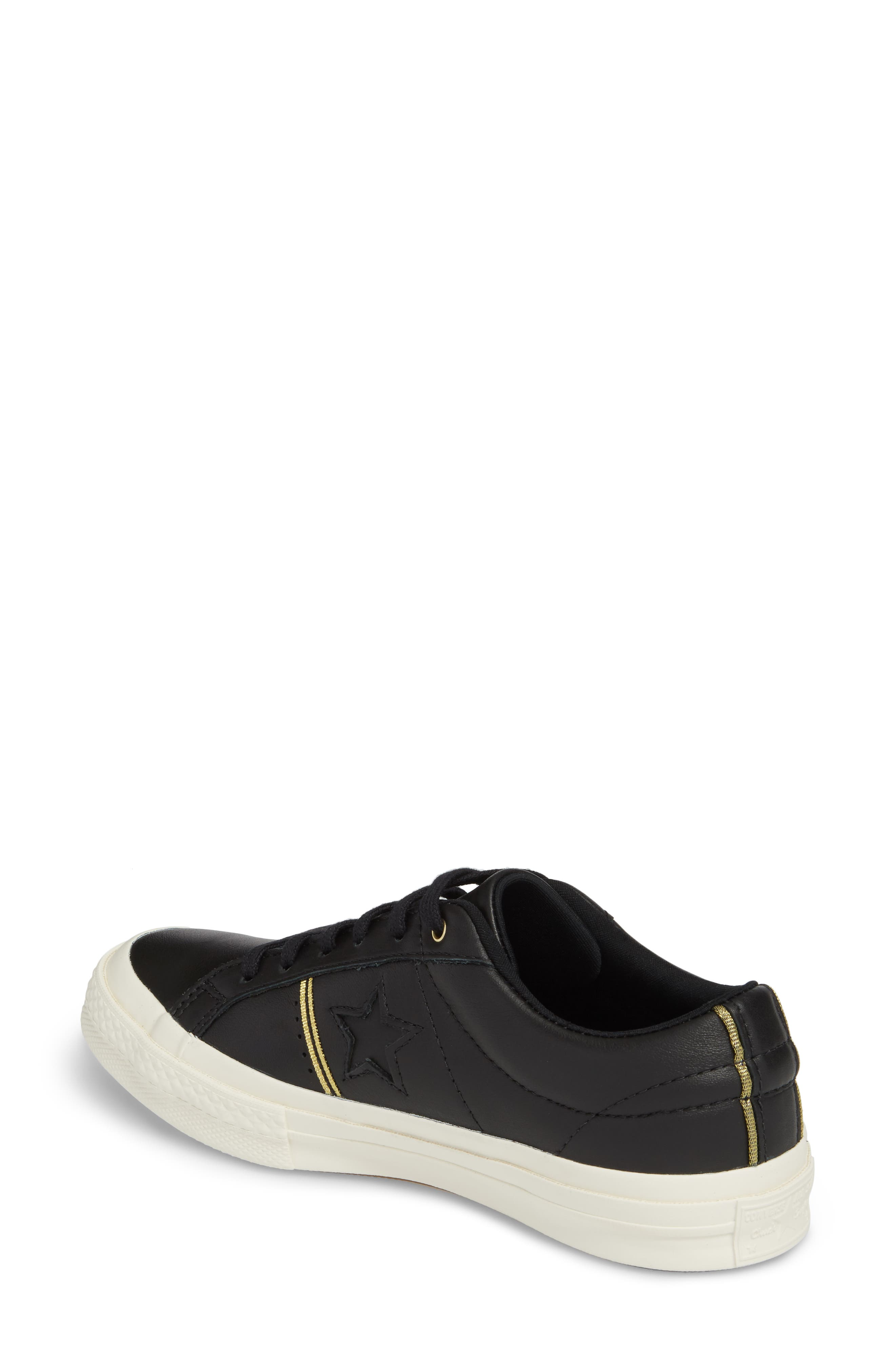 One Star Piping Sneaker,                             Alternate thumbnail 4, color,
