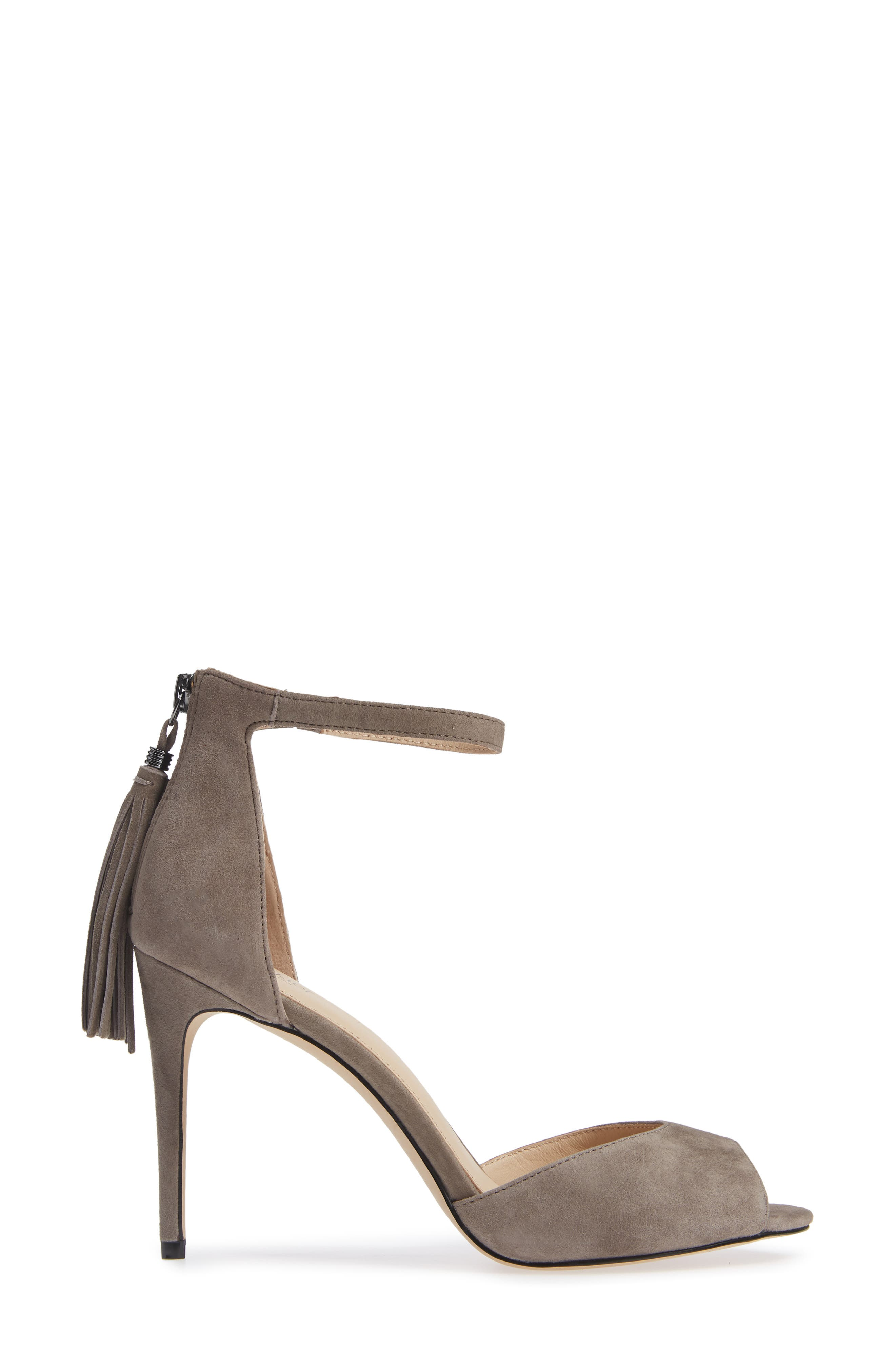 Anna Sandal,                             Alternate thumbnail 3, color,                             WINTER GREY SUEDE