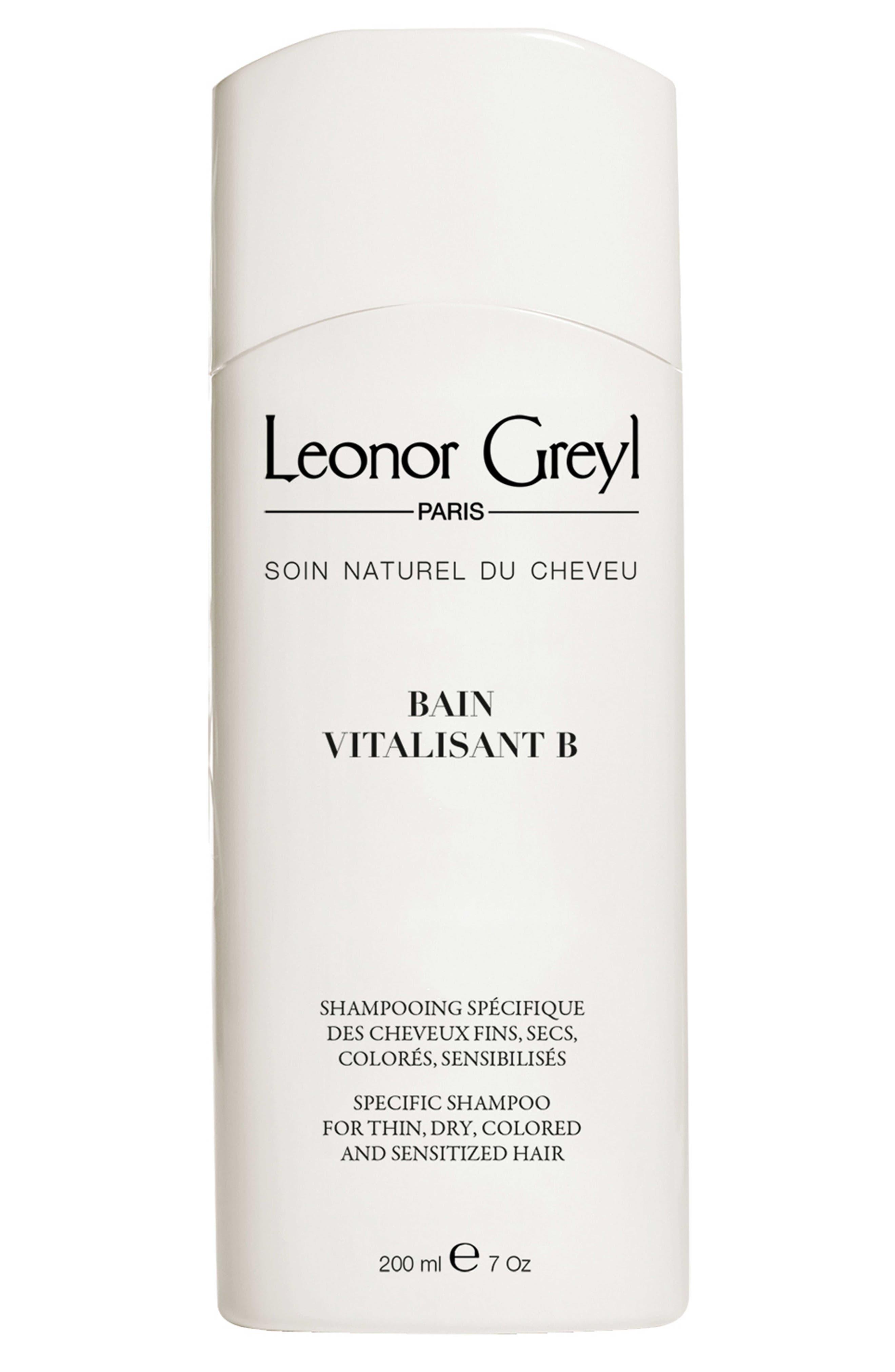 LEONOR GREYL Bain Vitalisant B (Shampoo For Thin, Dry, Colored And Sensitized Hair), 7.0 Oz./ 200 Ml