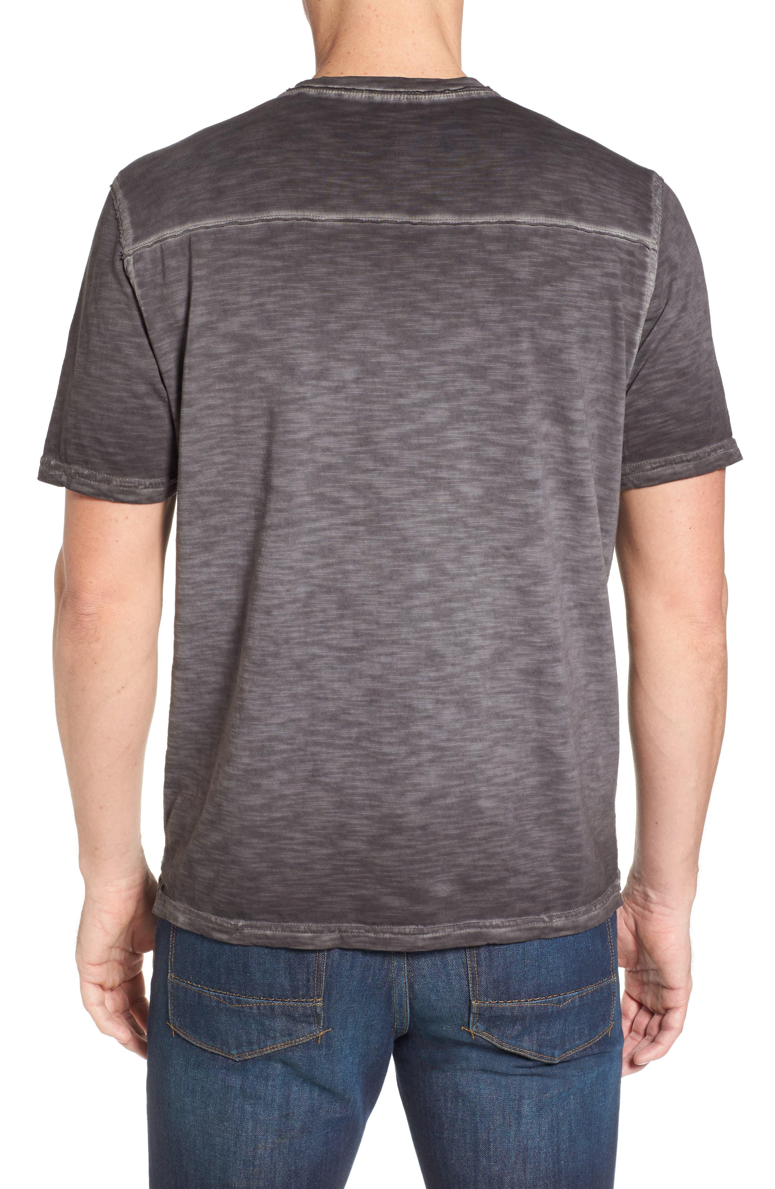 Suncoast Shores V-Neck T-Shirt,                             Alternate thumbnail 2, color,                             001