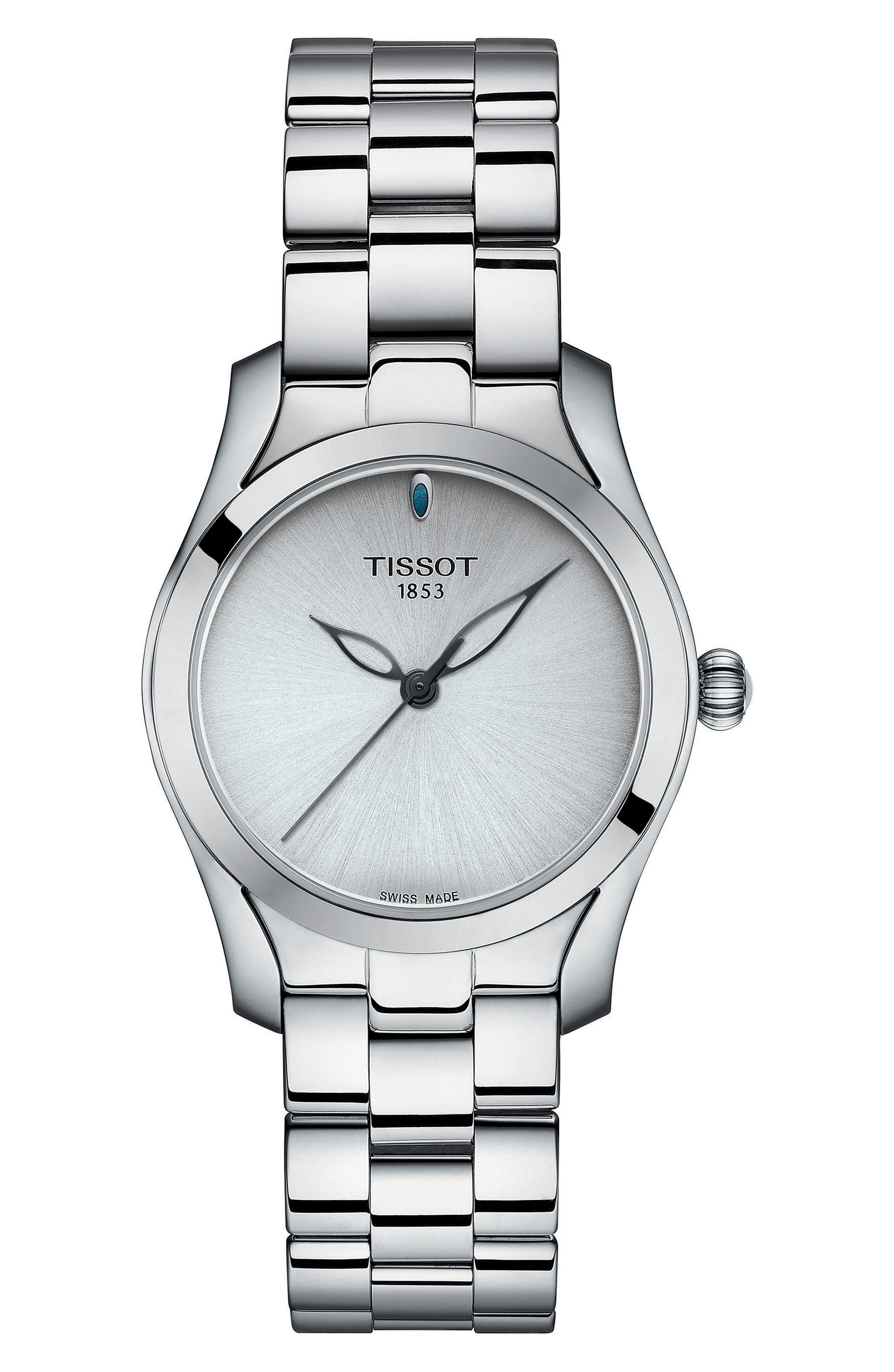 T-Wave Bracelet Watch, 30mm,                             Main thumbnail 1, color,                             040