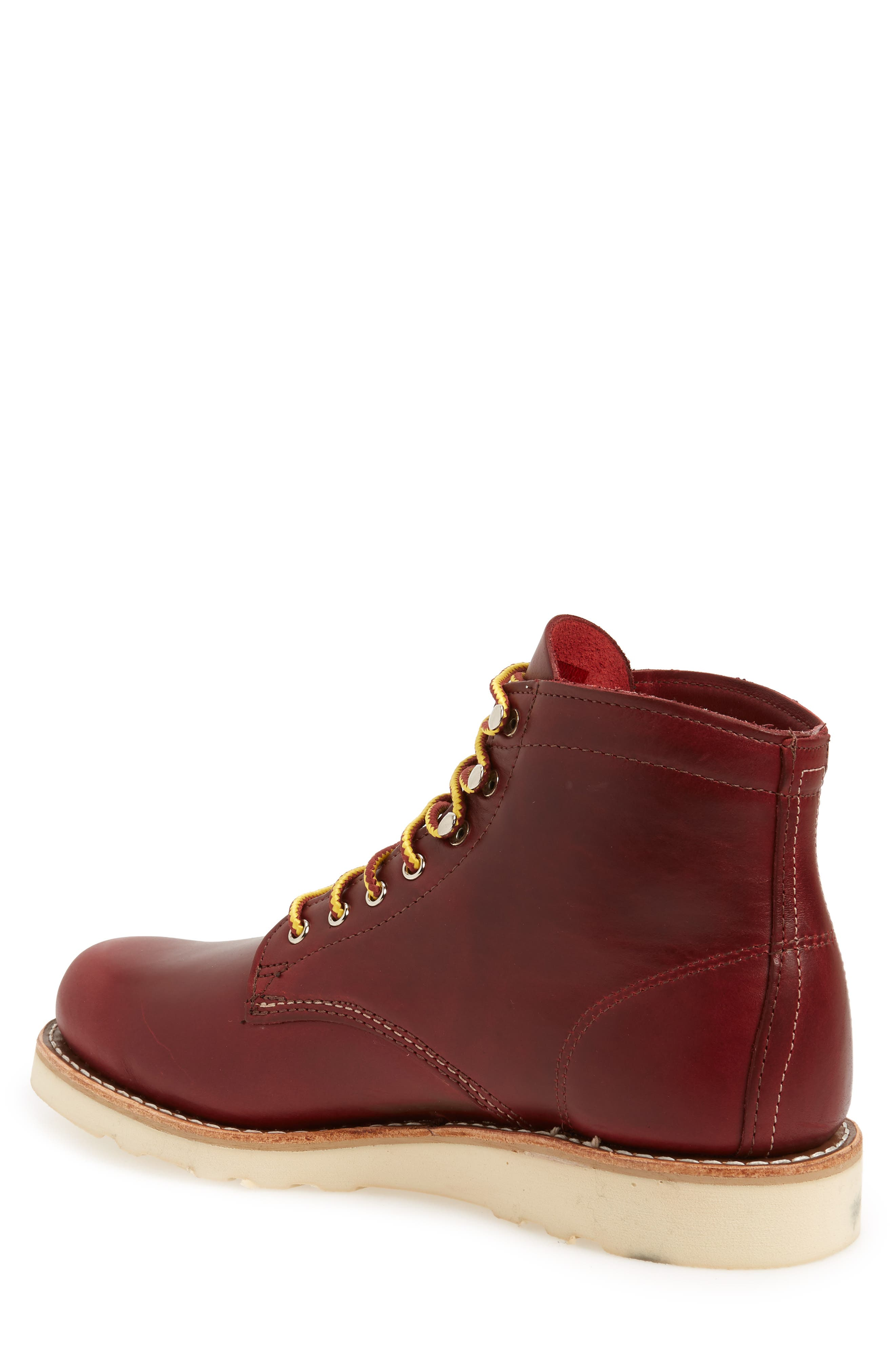 1000 Mile Wedge Boot,                             Alternate thumbnail 2, color,                             RED