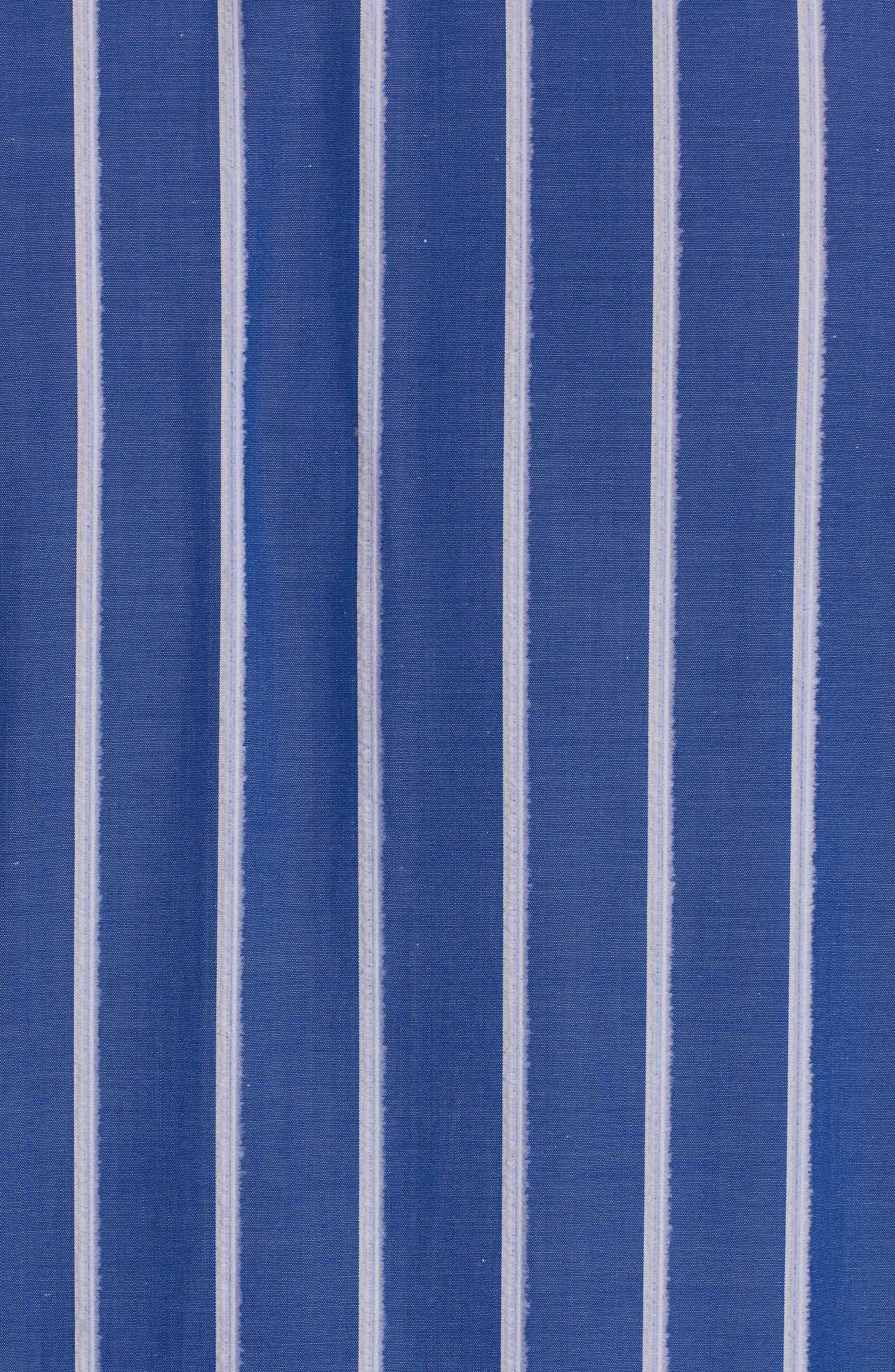 Massimo Regular Fit Stripe Sport Shirt,                             Alternate thumbnail 4, color,                             400