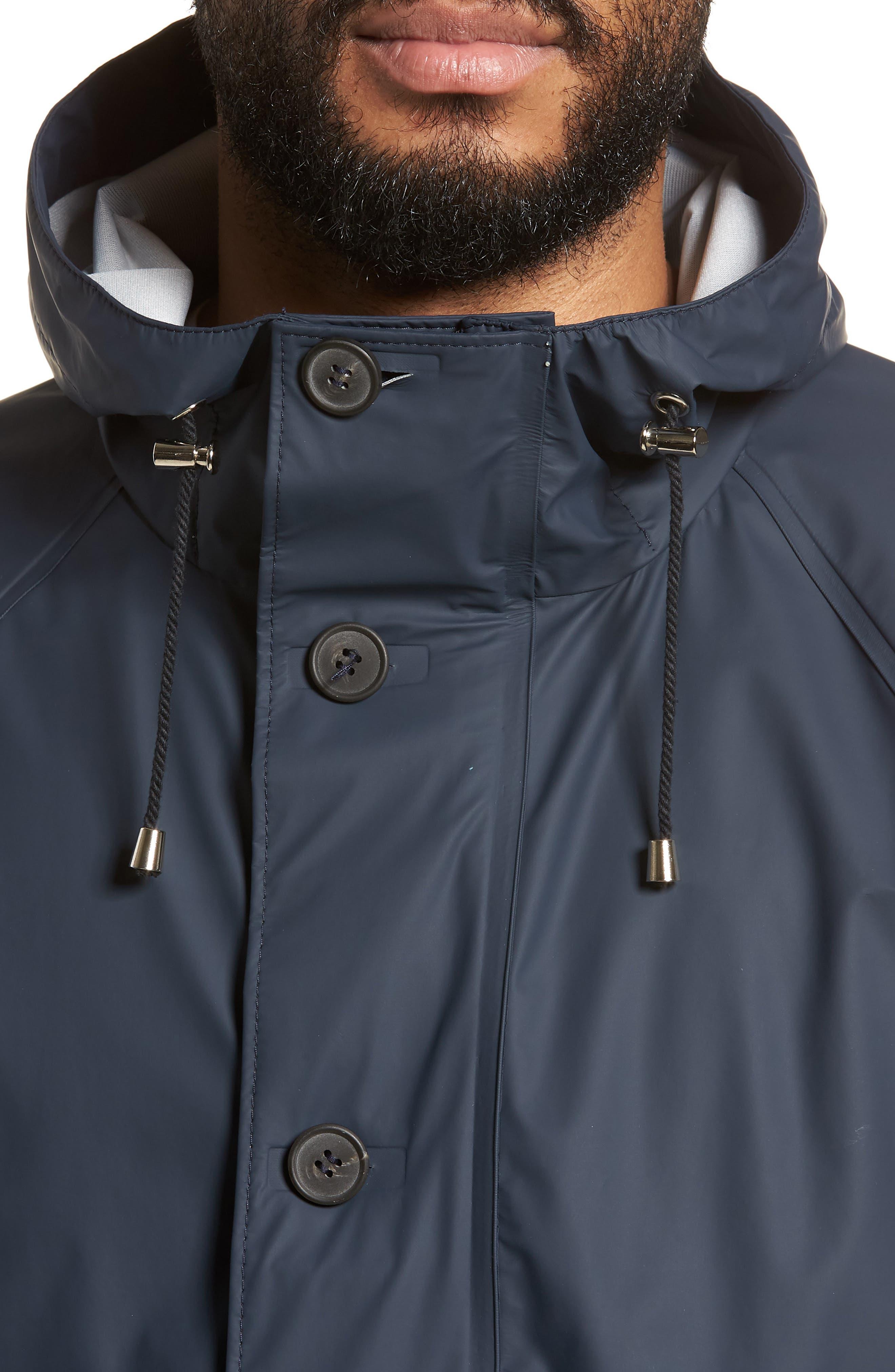 Stenhamra Classic Fit Jacket,                             Alternate thumbnail 4, color,                             NAVY