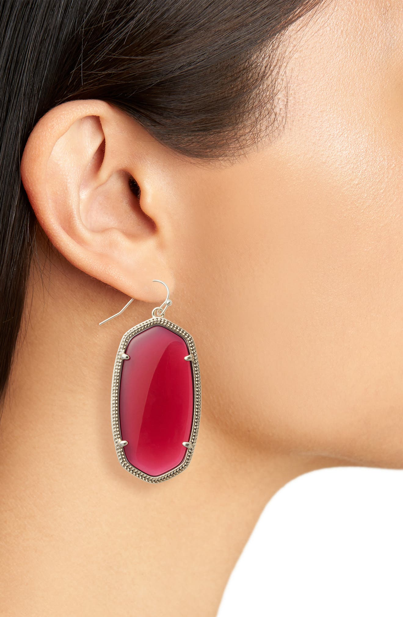 Danielle - Large Oval Statement Earrings,                             Alternate thumbnail 113, color,