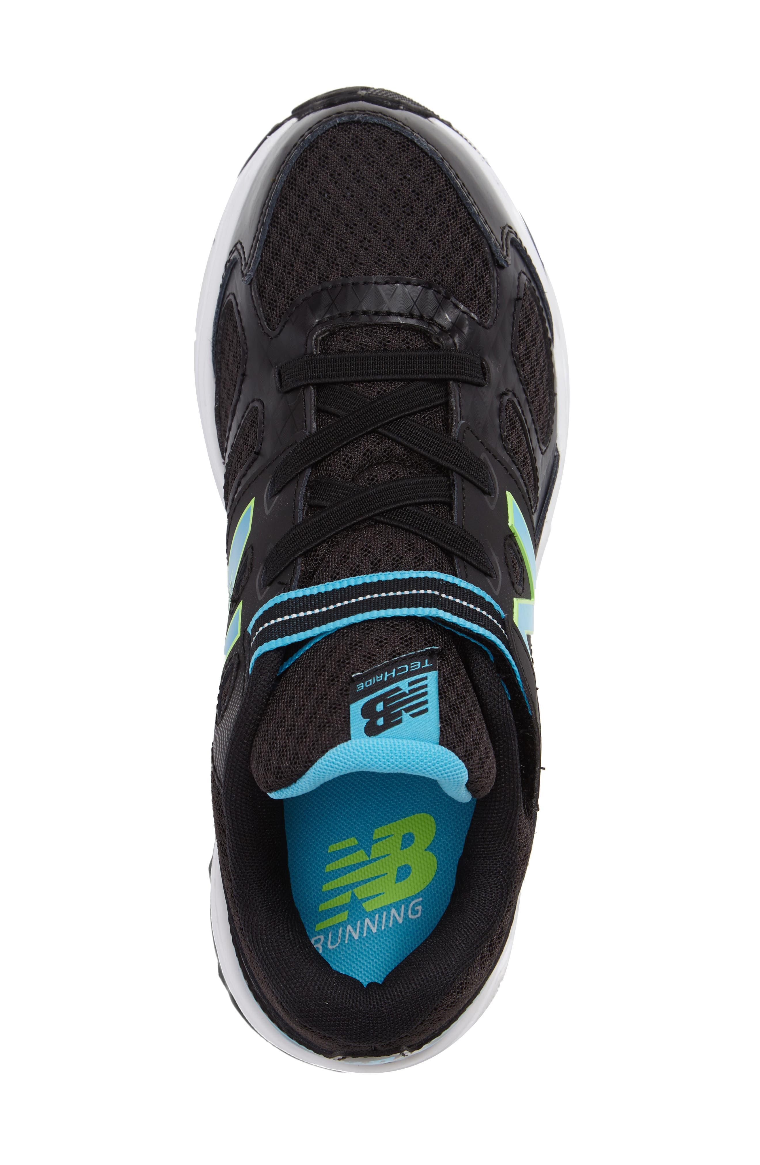 680v3 Sneaker,                             Alternate thumbnail 3, color,                             BLACK/BLUE