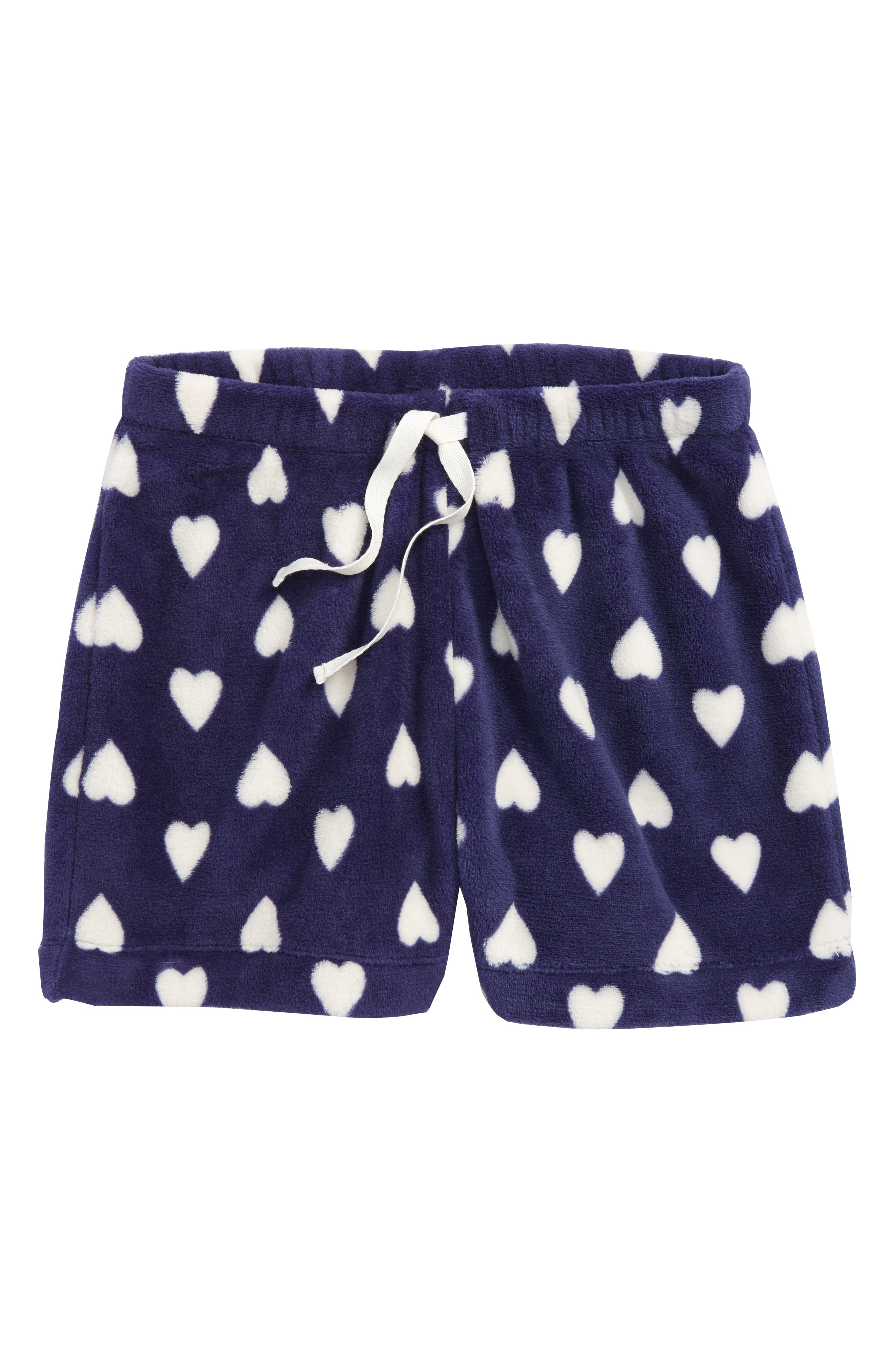 Fleece Sleep Shorts,                         Main,                         color, 410