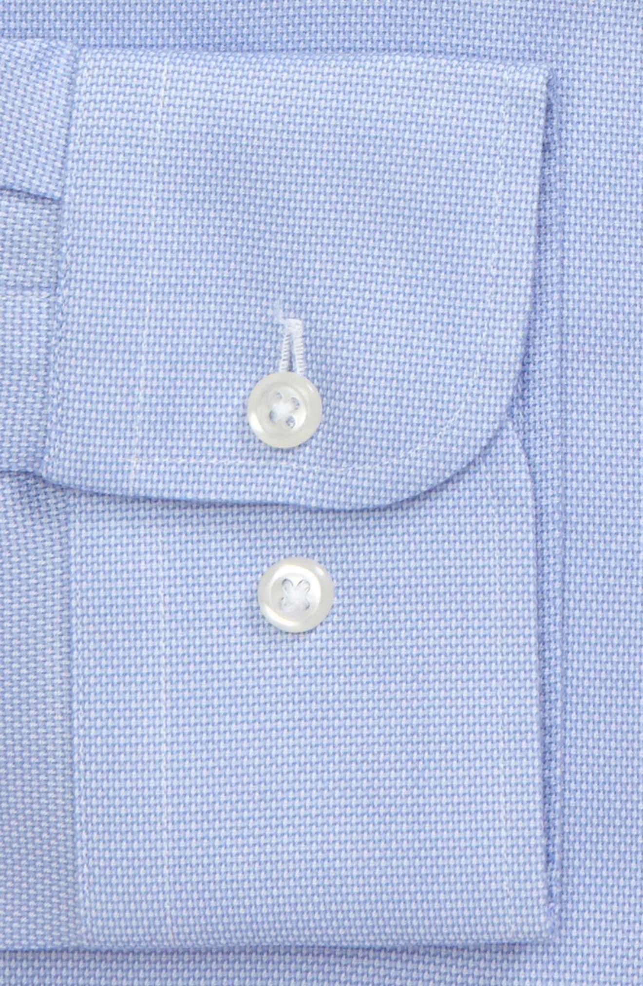 Smartcare<sup>™</sup> Trim Fit Oxford Dress Shirt,                             Alternate thumbnail 7, color,