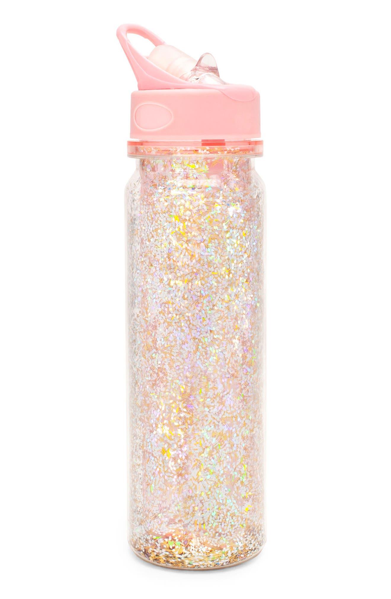 Glitter Bomb 16-Ounce Water Bottle,                             Alternate thumbnail 2, color,                             650
