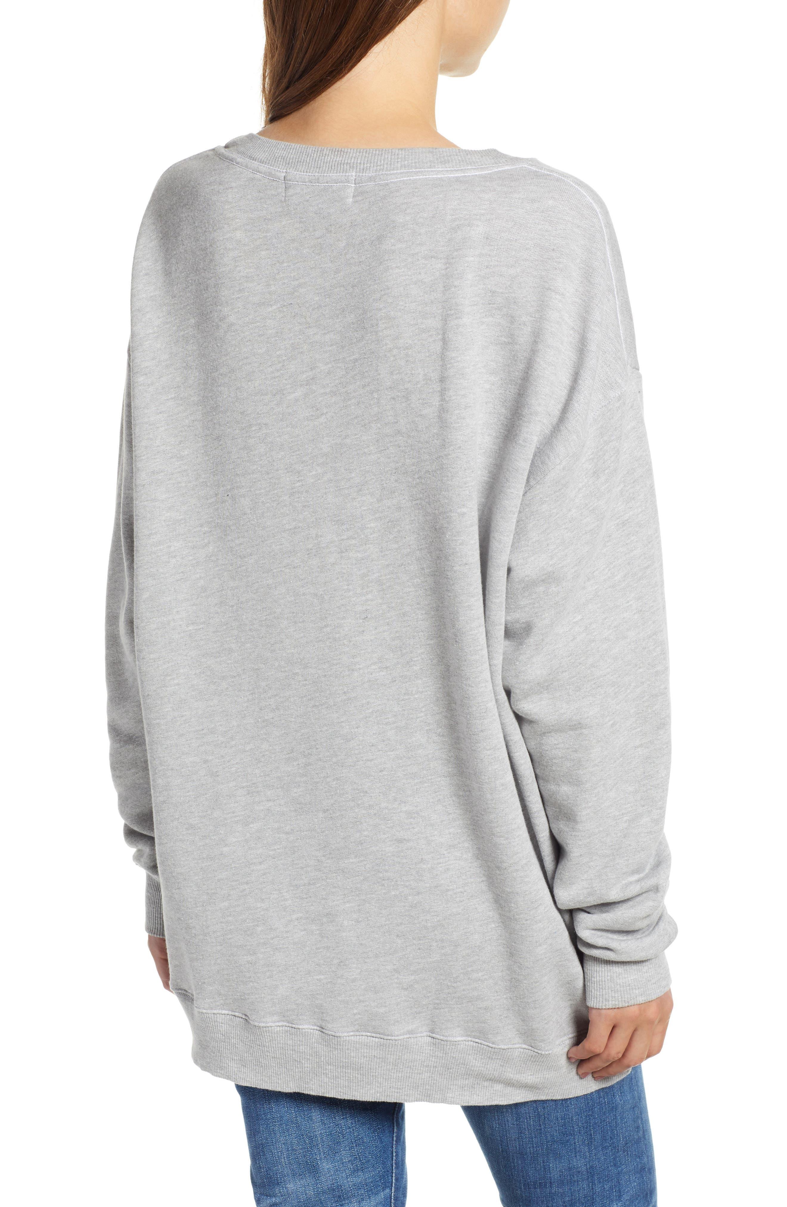 Roadtrip Sweatshirt,                             Alternate thumbnail 2, color,                             HEATHER