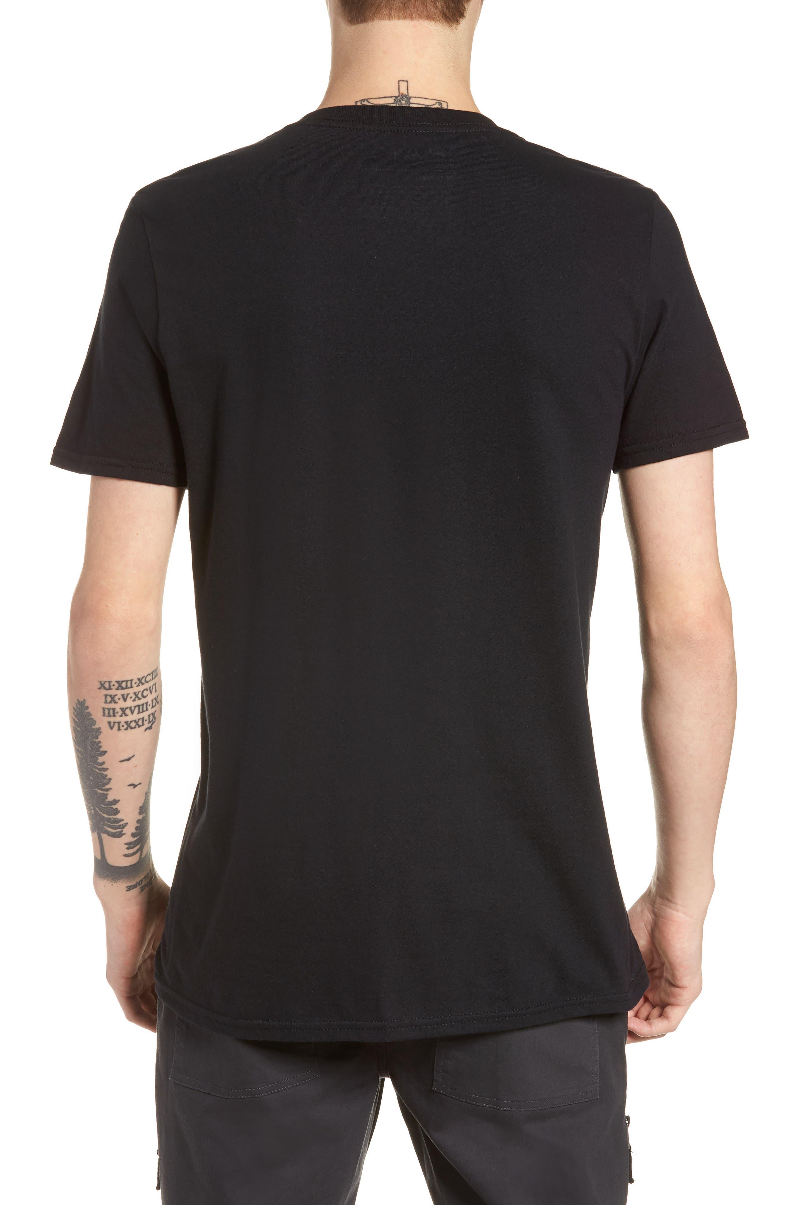 Court Shadow T-Shirt,                             Alternate thumbnail 2, color,                             001