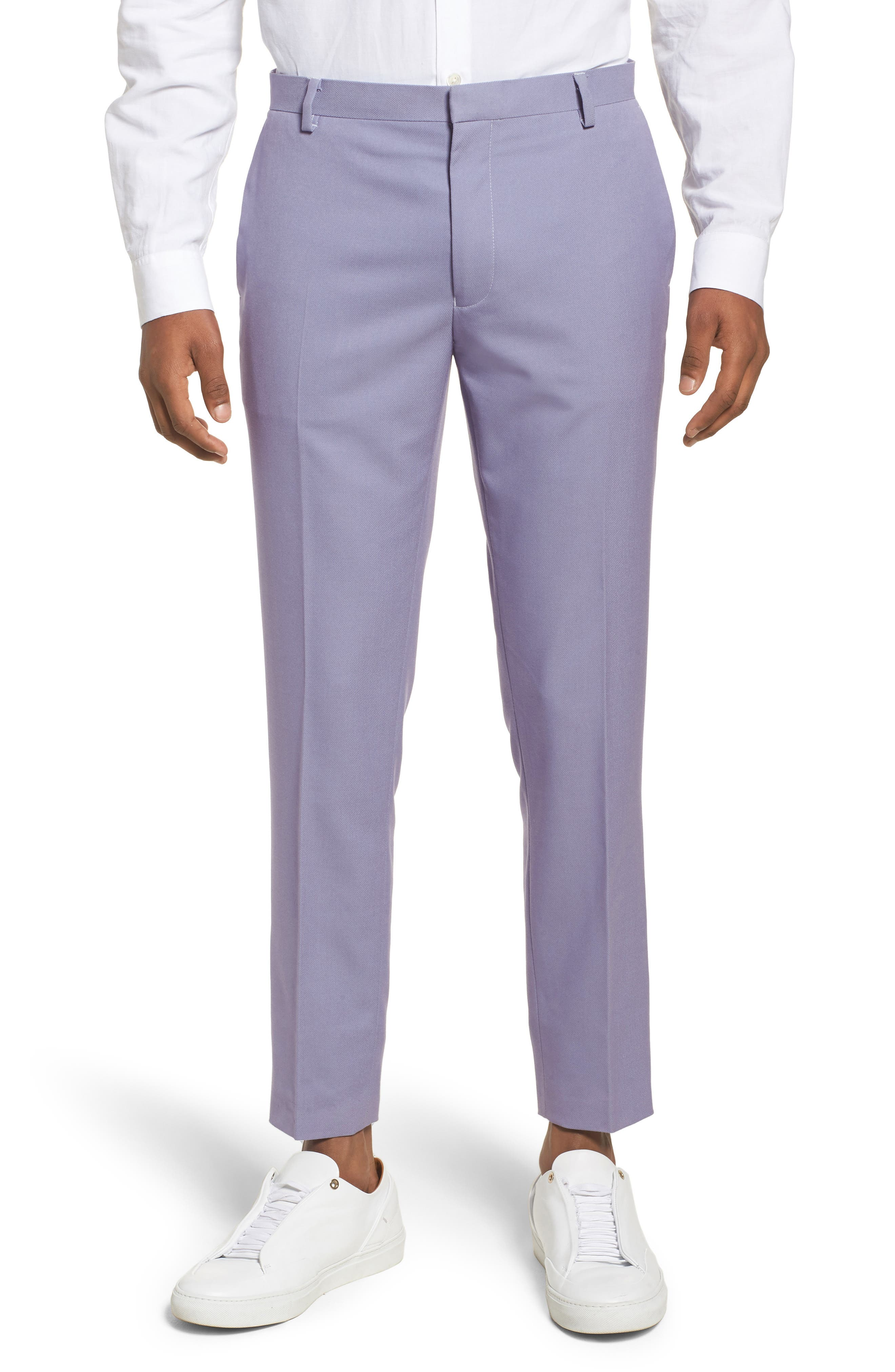 Skinny Fit Suit Trousers,                             Main thumbnail 2, color,