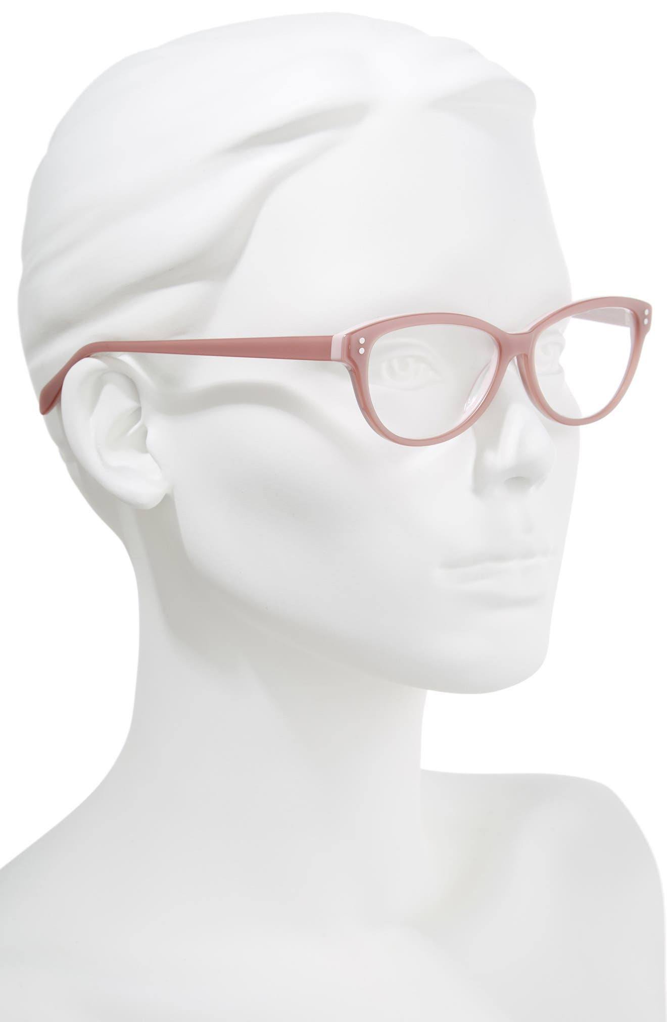Marley 52mm Reading Glasses,                             Alternate thumbnail 2, color,                             PINK