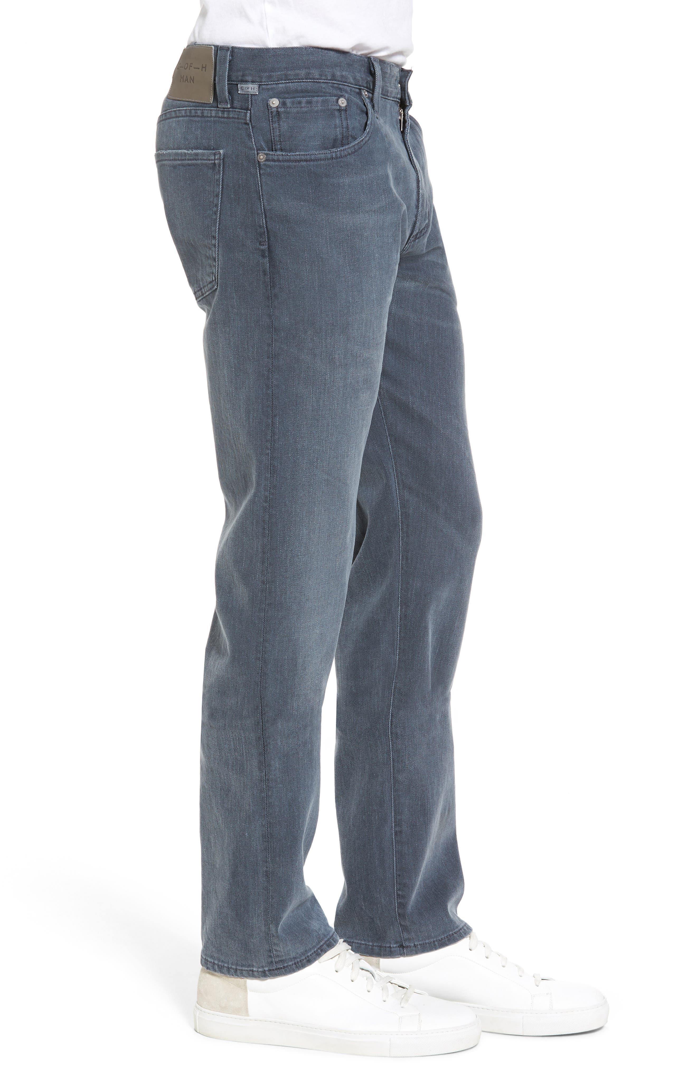 Core Slim Fit Jeans,                             Alternate thumbnail 3, color,                             GREY SKIES