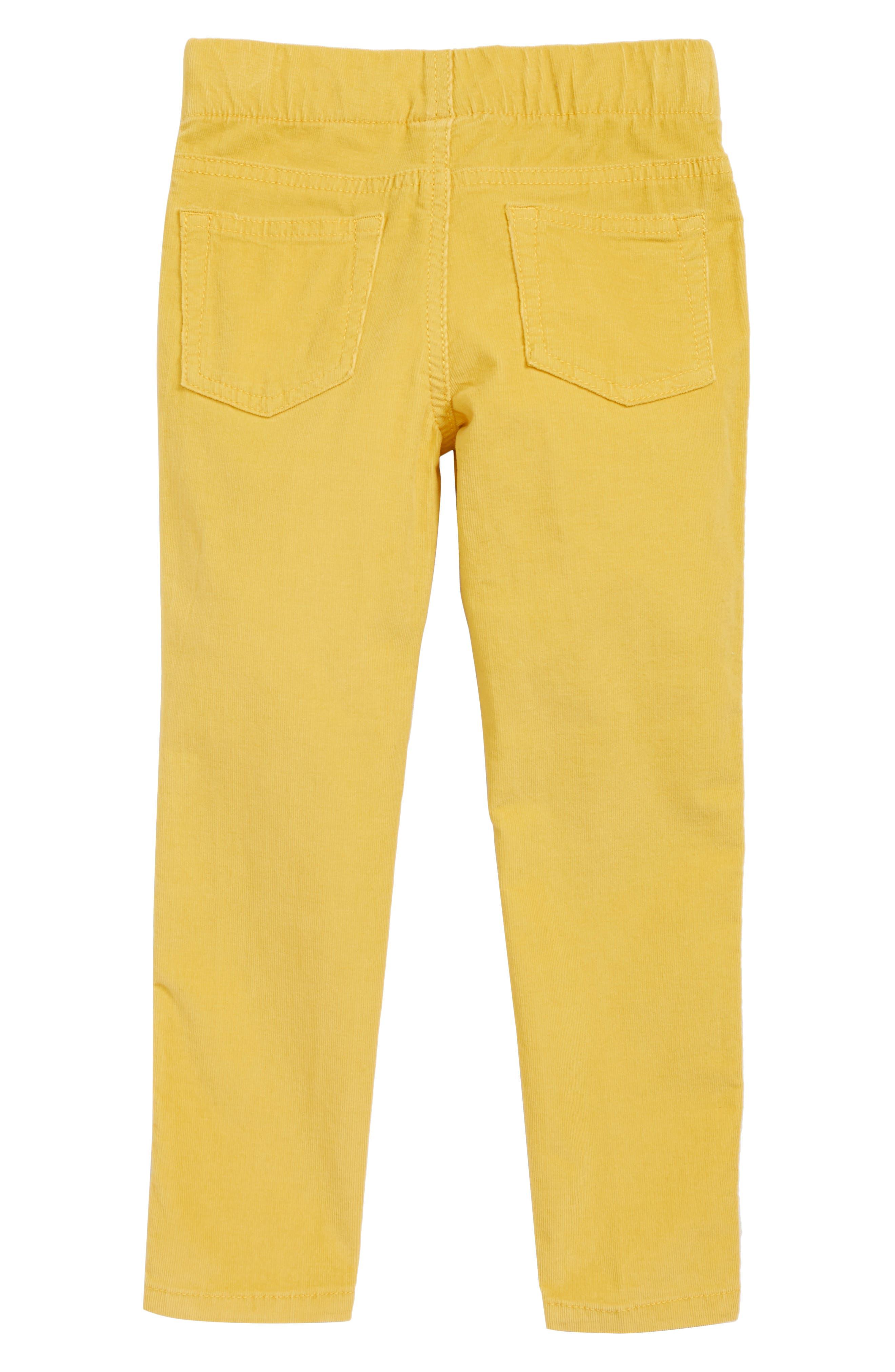 Pull-On Corduroy Pants,                             Alternate thumbnail 2, color,                             YELLOW FUN