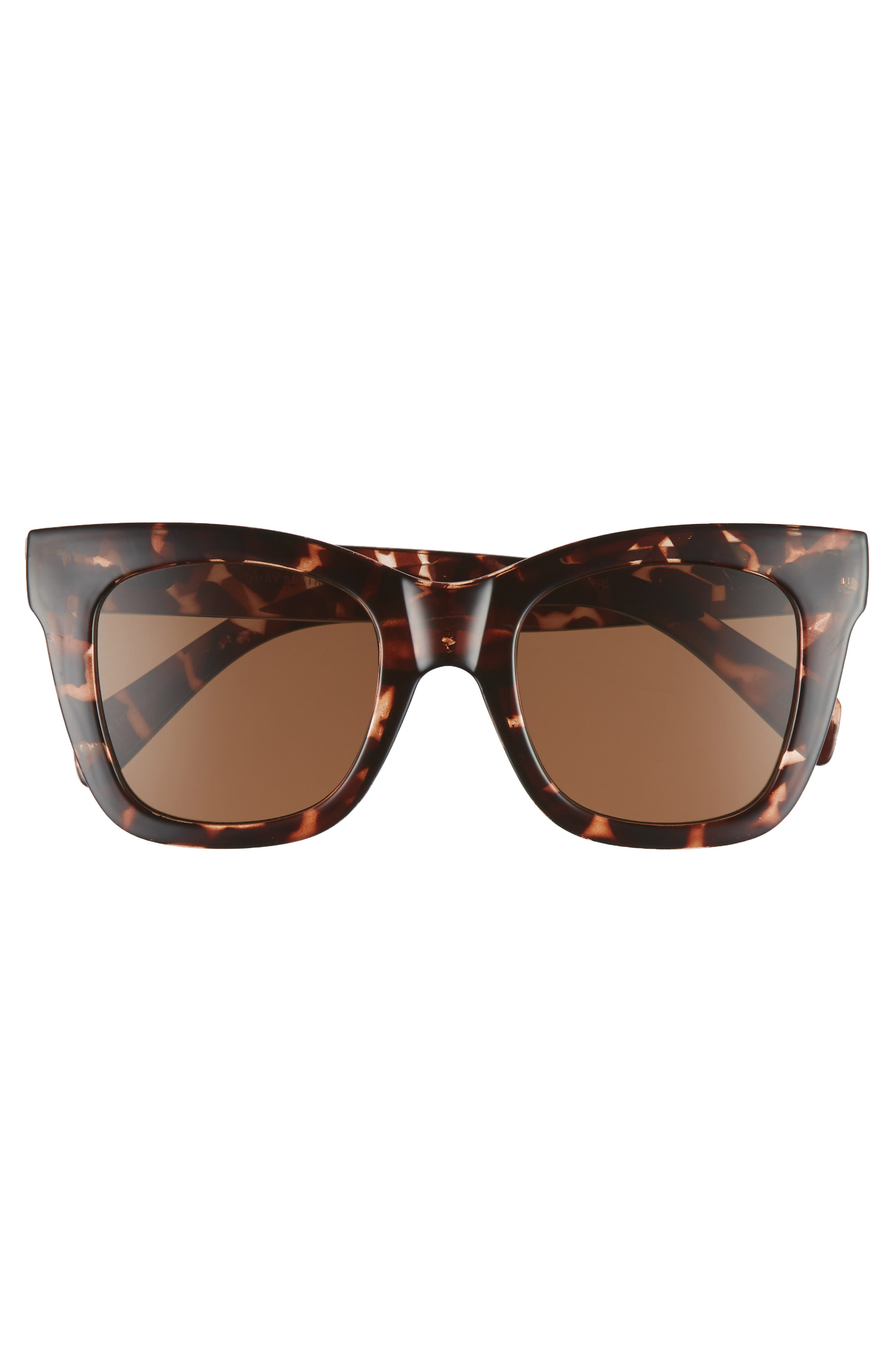 After Hours 50mm Square Sunglasses,                             Alternate thumbnail 3, color,                             TORT / BROWN