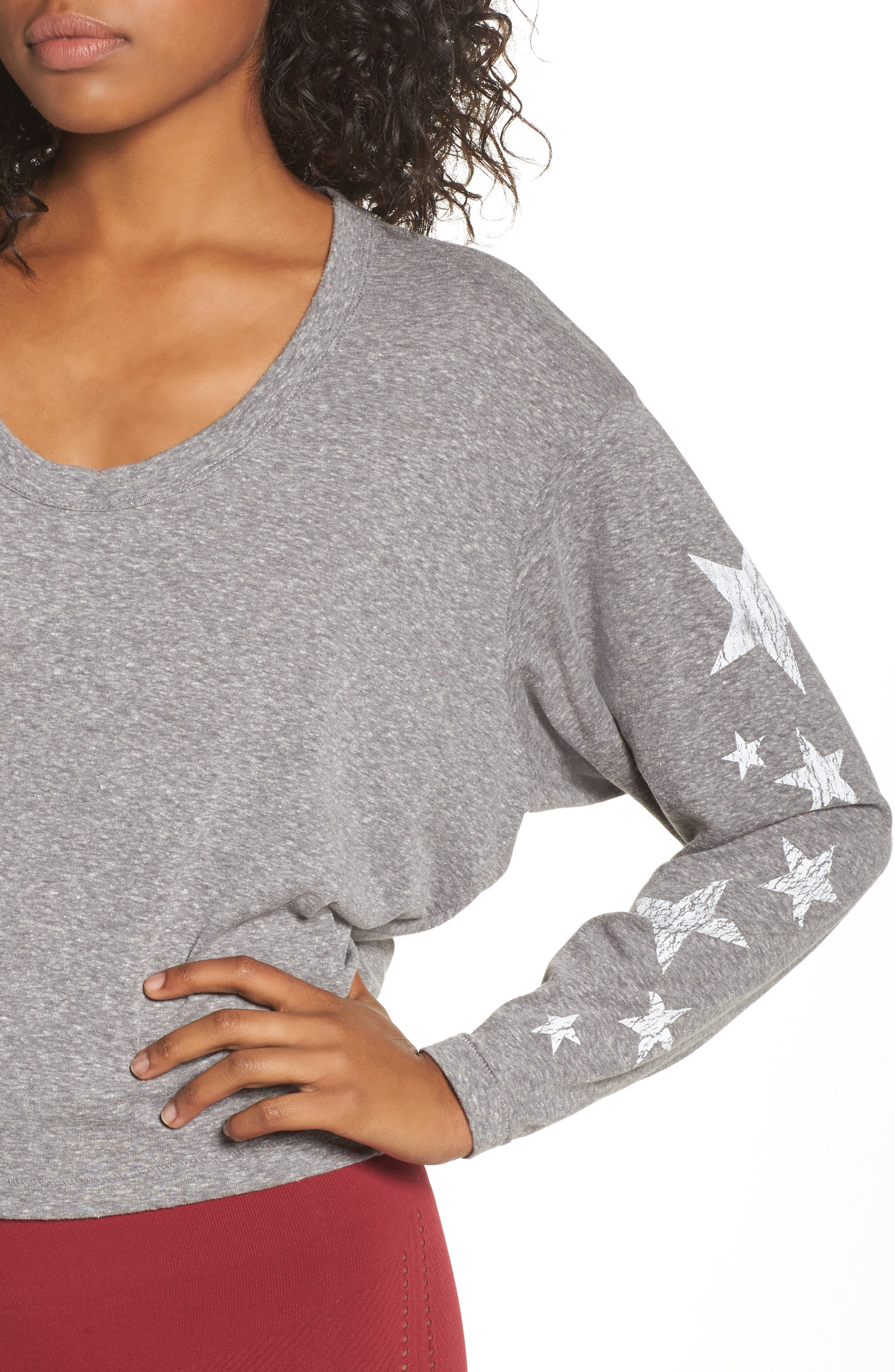 Free People Melrose Star Graphic Top,                             Alternate thumbnail 11, color,
