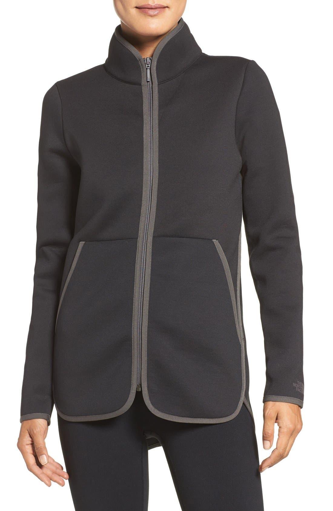 Neo Knit Jacket,                             Main thumbnail 1, color,                             001