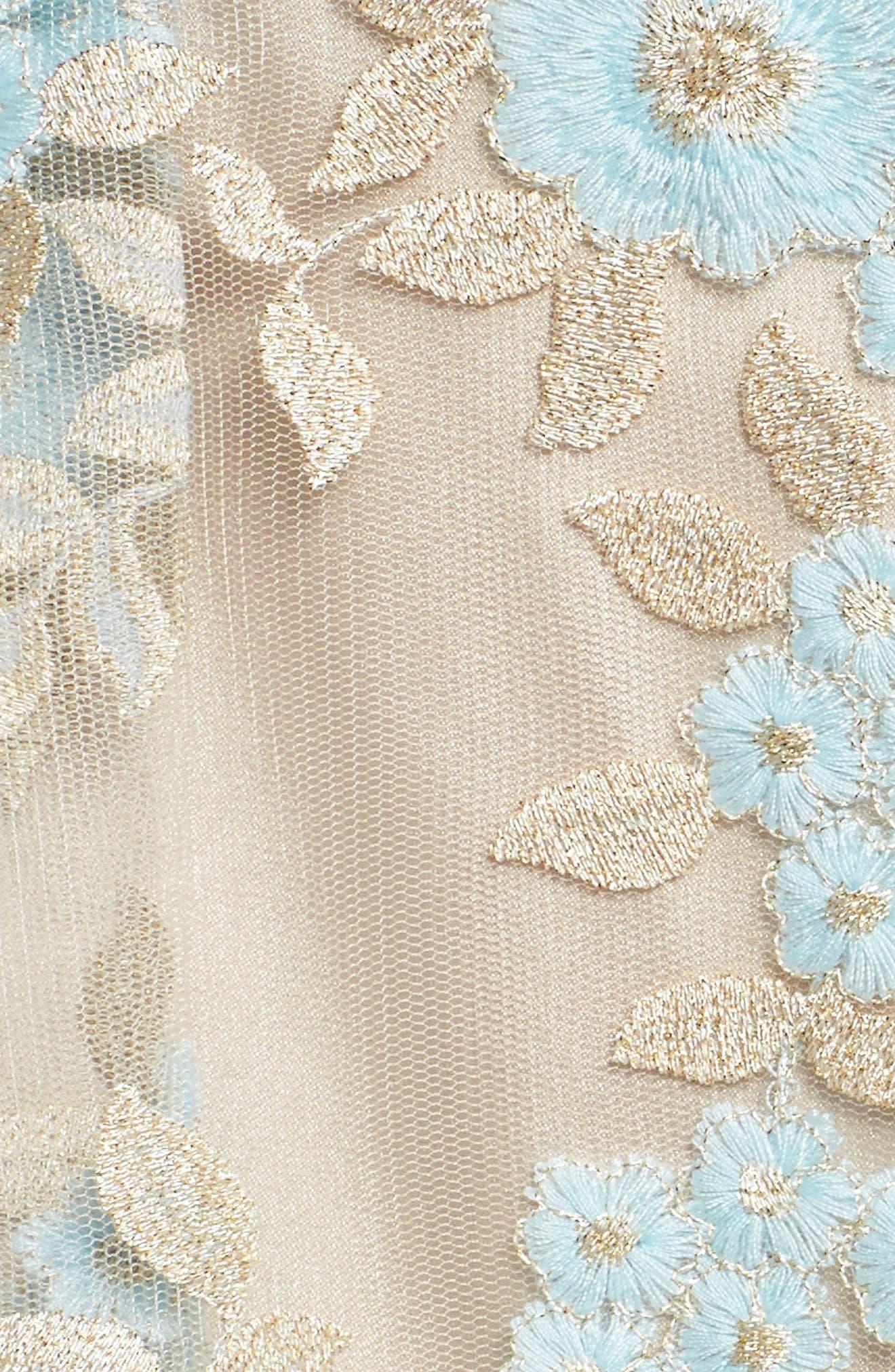 Lace Sleeveless Dress,                             Alternate thumbnail 5, color,                             434