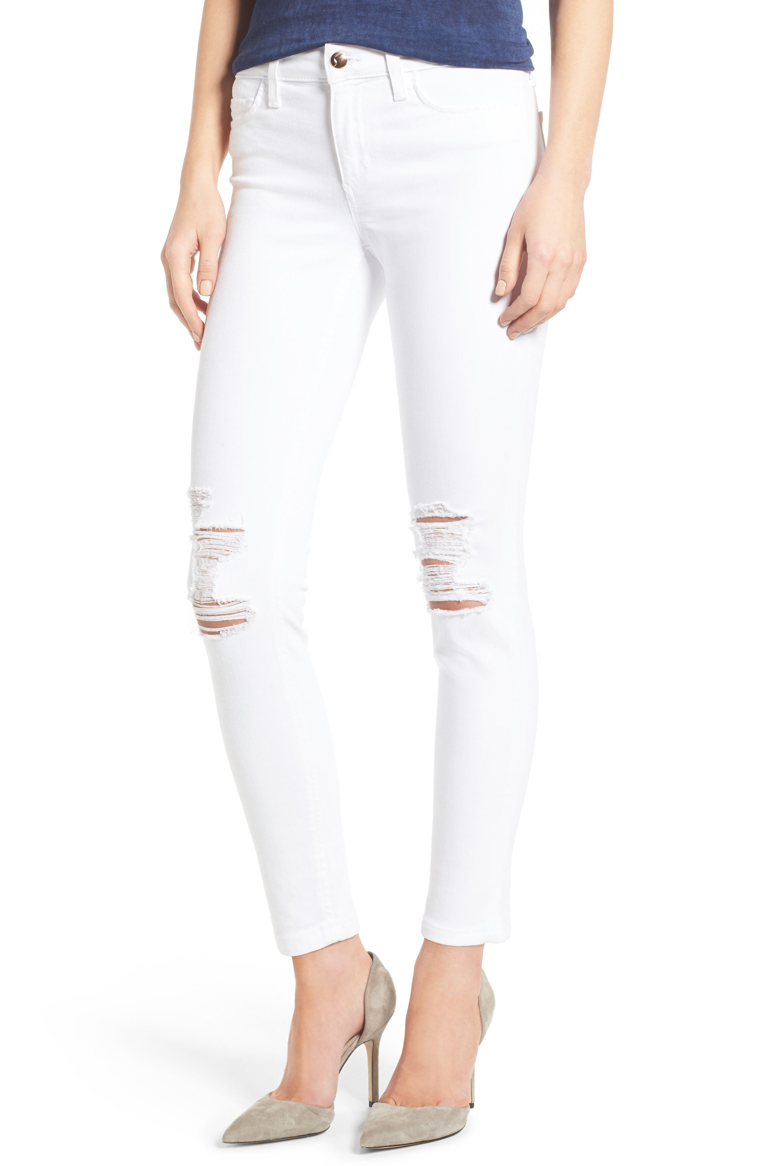 Icon Ankle Skinny Jeans,                         Main,                         color, 100
