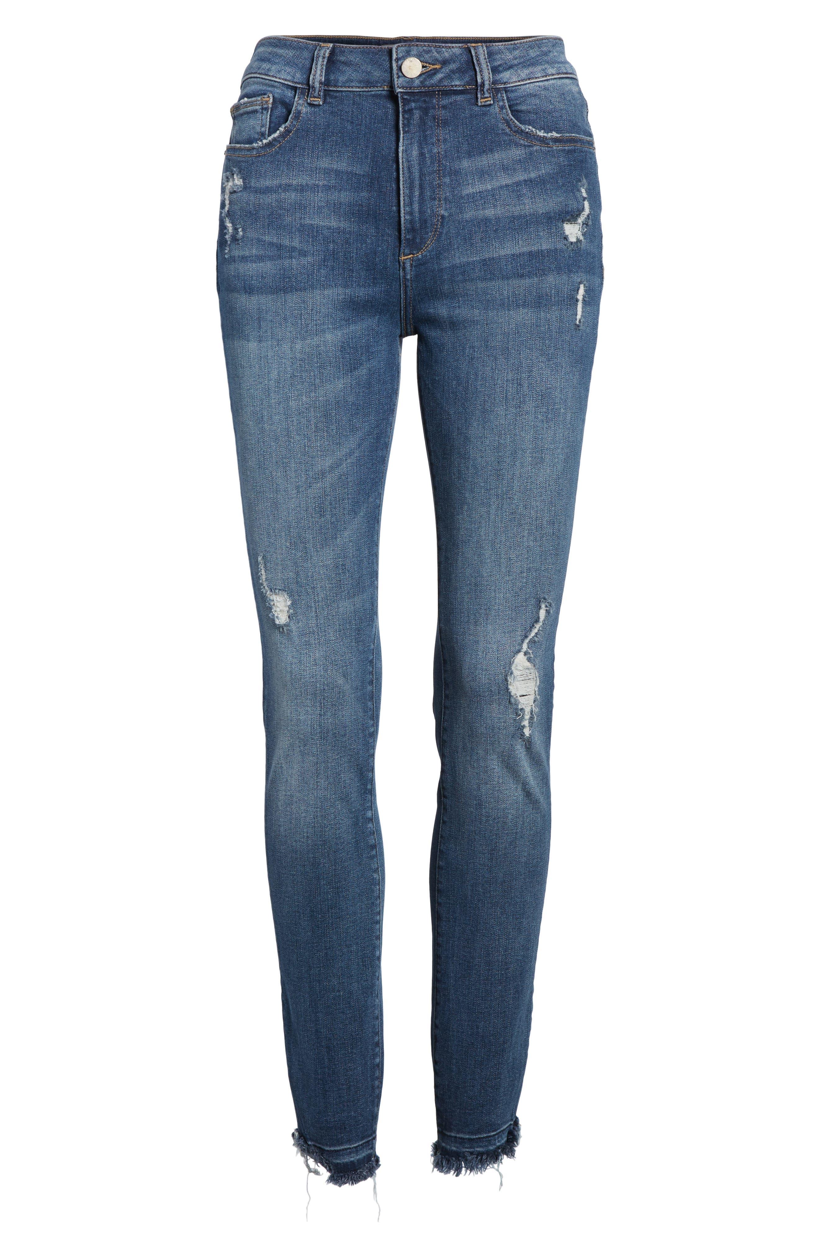 Farrow Instaslim High Waist Skinny Jeans,                             Alternate thumbnail 7, color,                             426