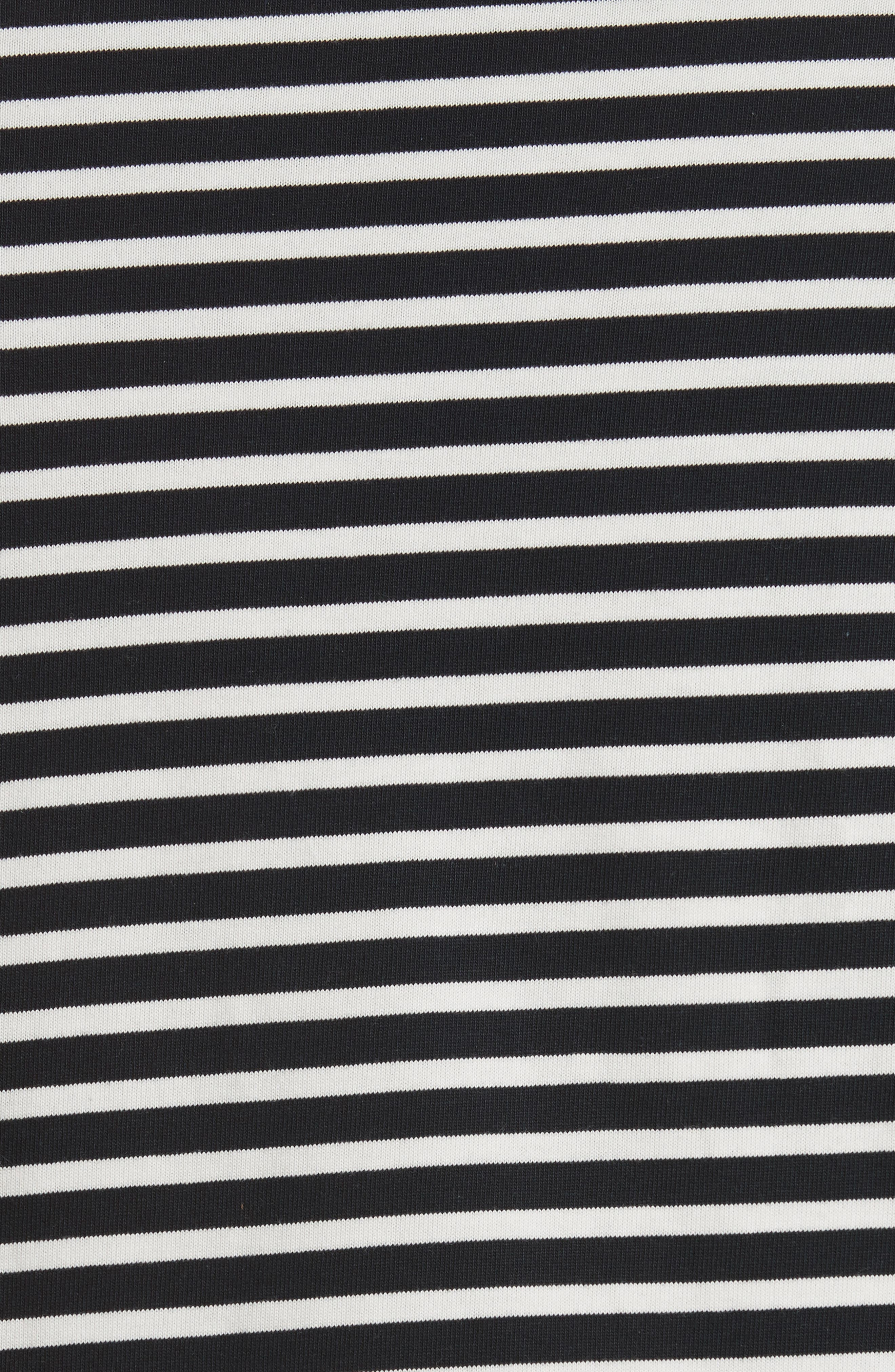 Stripe Long Sleeve T-Shirt,                             Alternate thumbnail 5, color,
