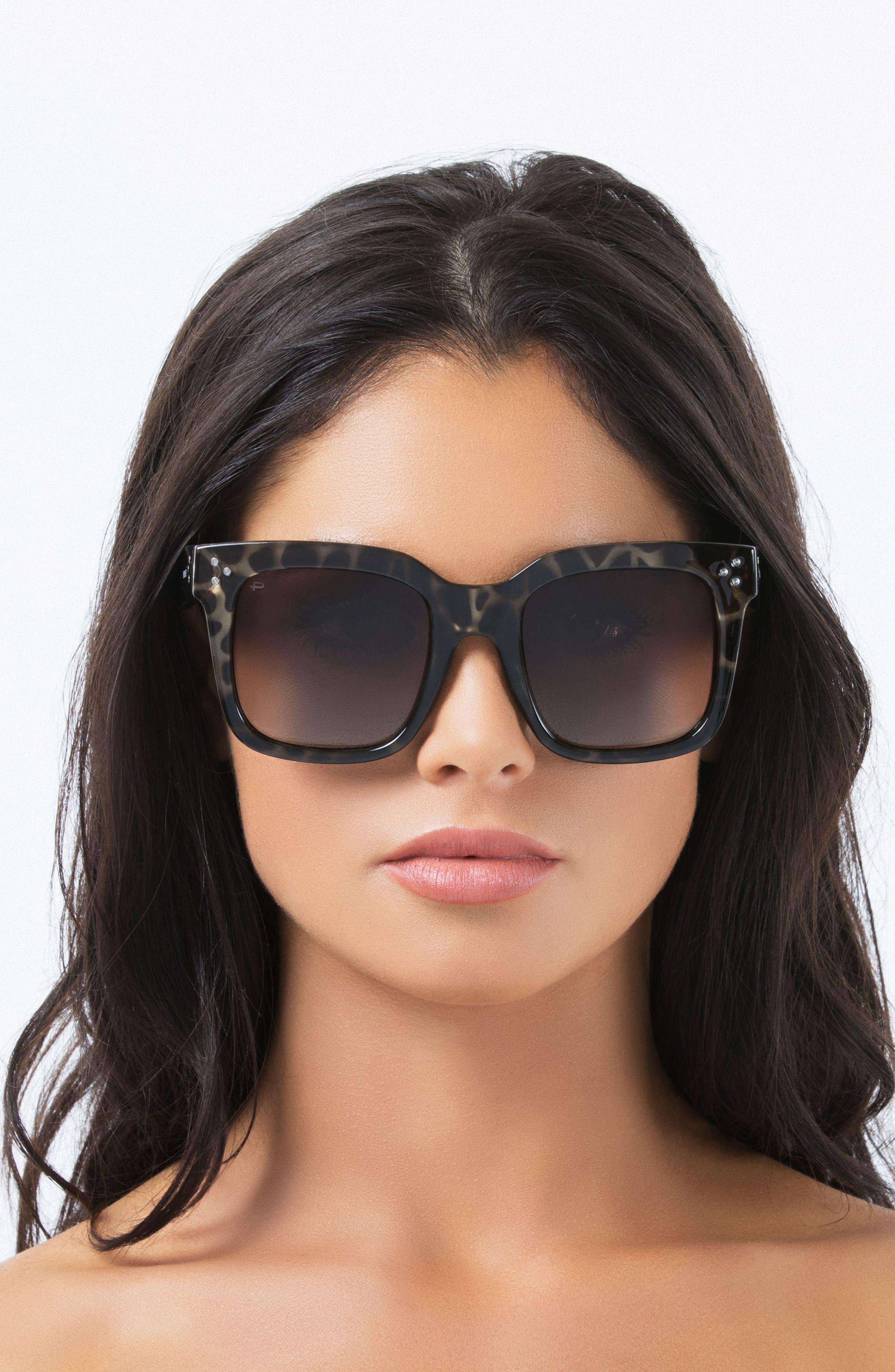 The Heroine 53mm Sunglasses,                             Alternate thumbnail 5, color,                             200