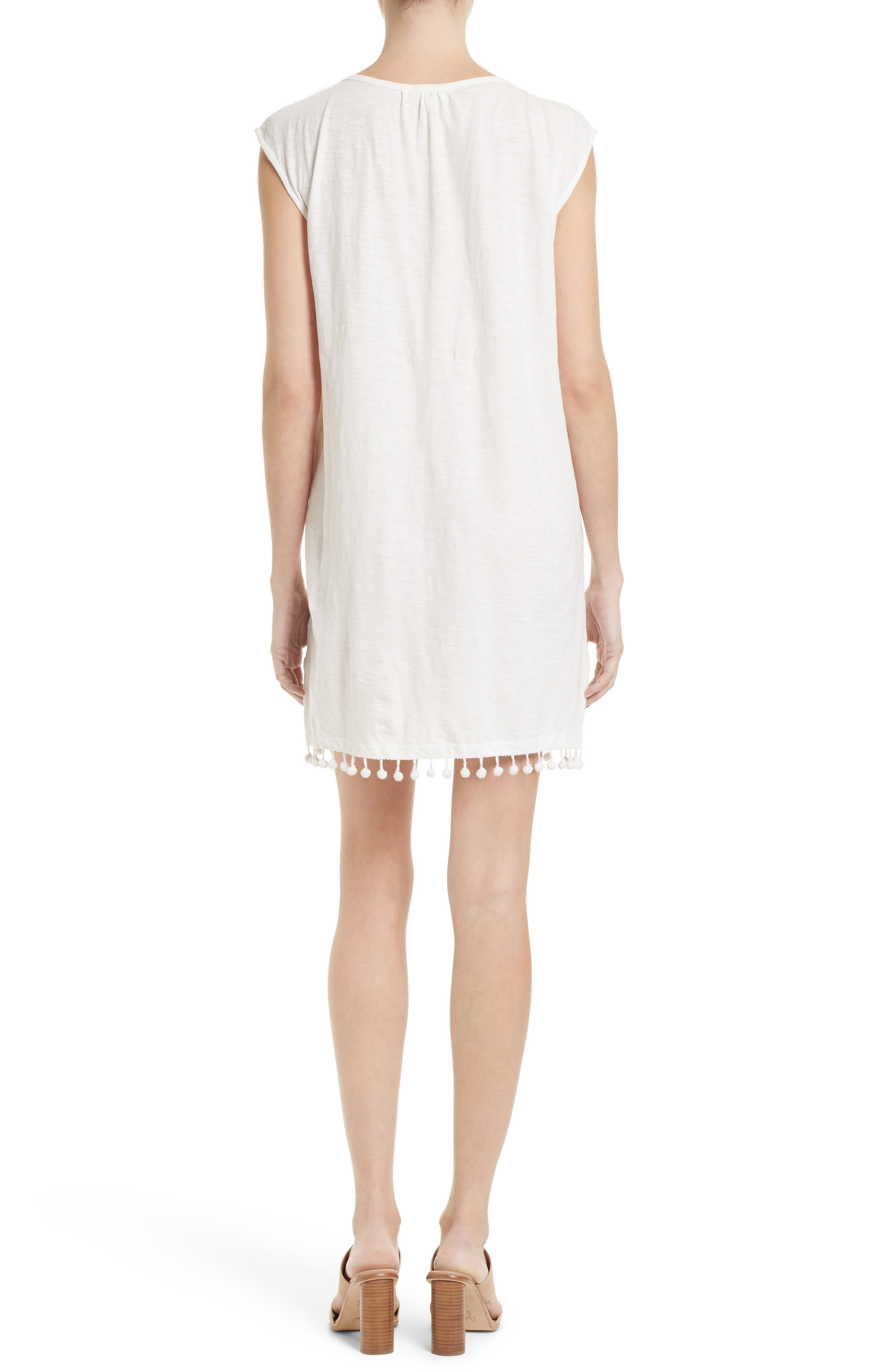Kanae Lace Trim Shift Dress,                             Alternate thumbnail 2, color,                             900