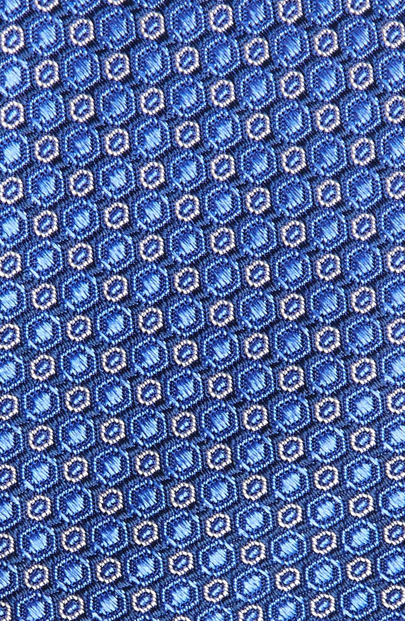 Optical Dot Silk Tie,                             Alternate thumbnail 6, color,