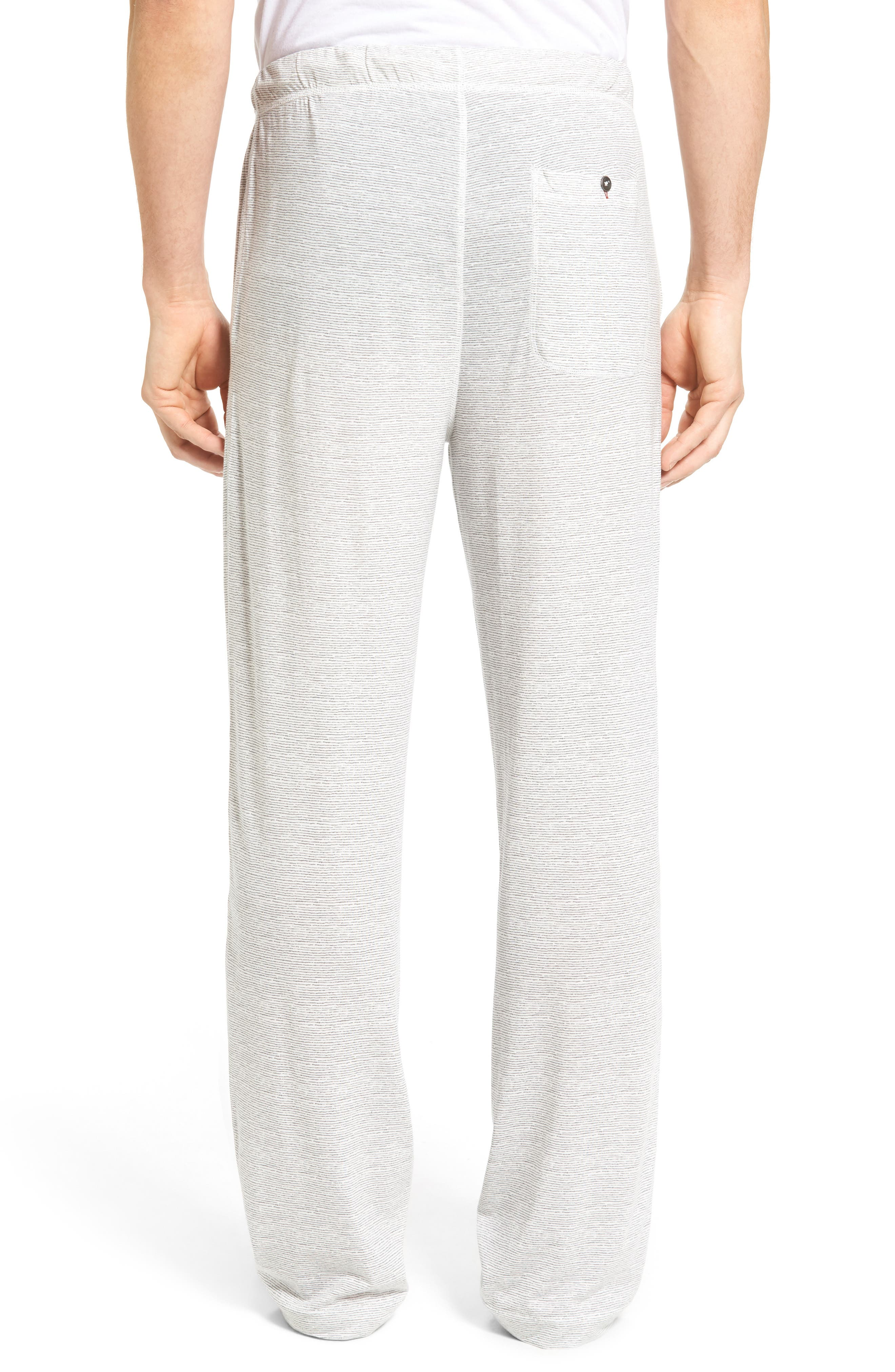 Pima Cotton & Modal Lounge Pants,                             Alternate thumbnail 2, color,                             020