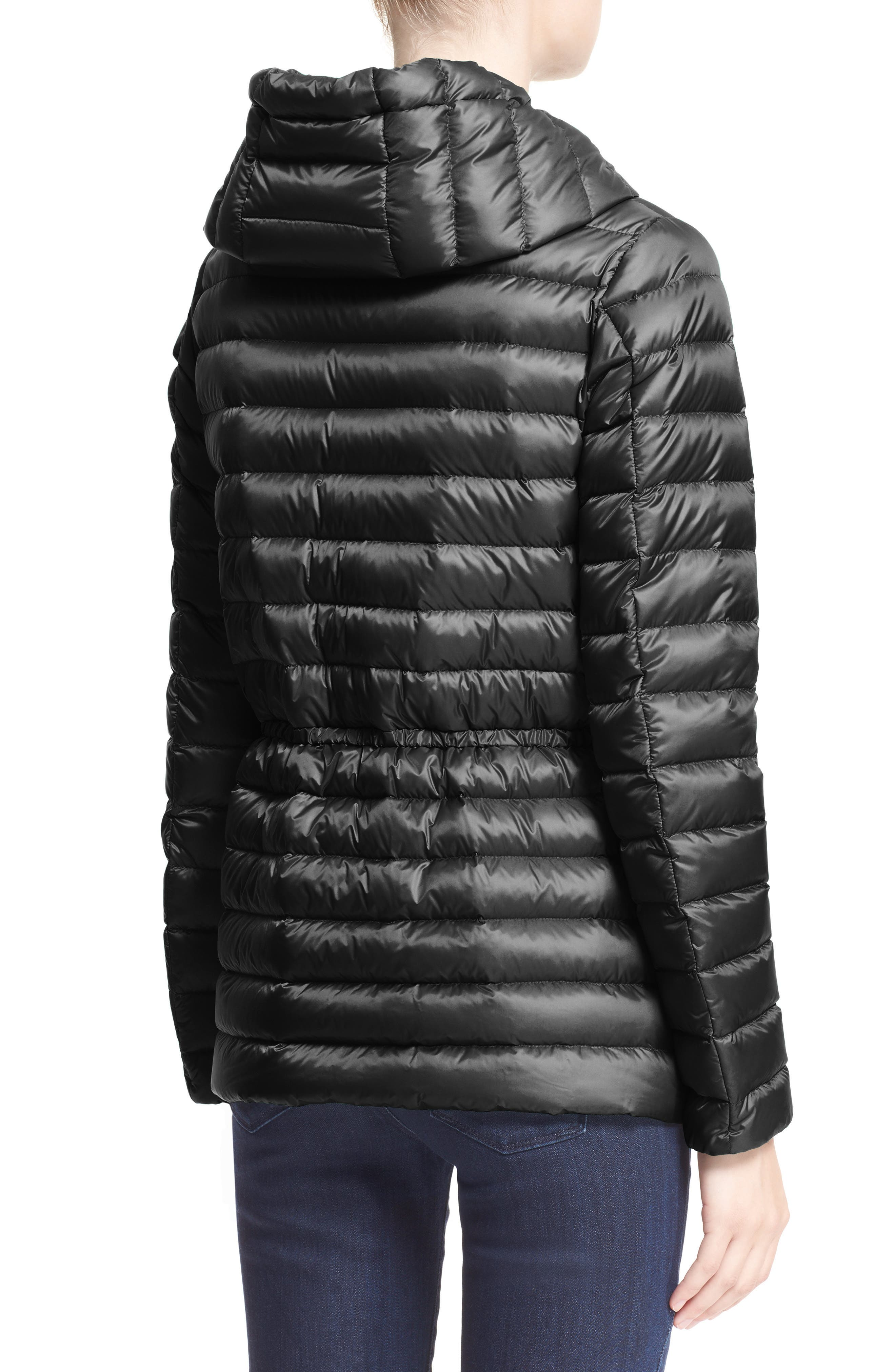 'Raie' Water Resistant Hooded Down Jacket,                             Alternate thumbnail 2, color,                             002