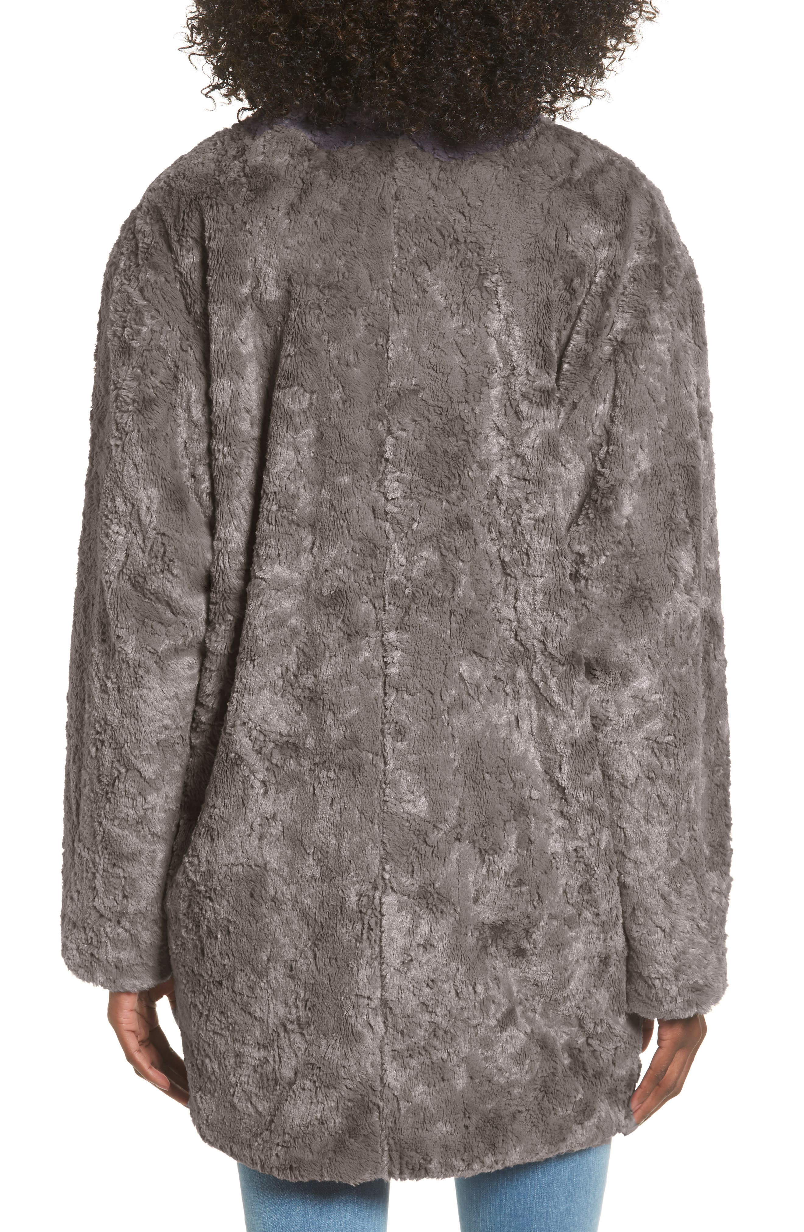 Skylar Faux Fur Jacket,                             Alternate thumbnail 2, color,                             021