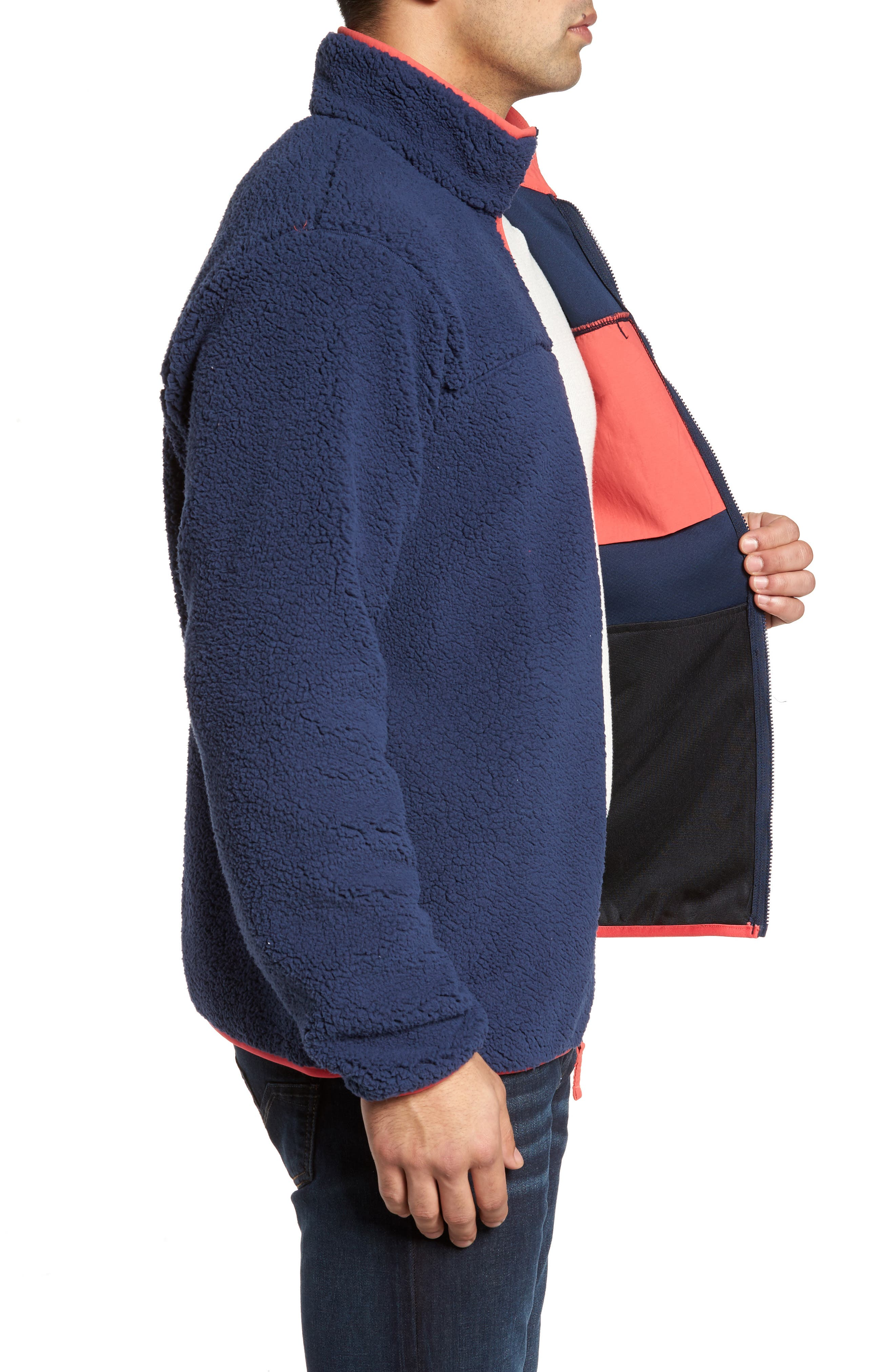 Harborside Fleece Jacket,                             Alternate thumbnail 14, color,