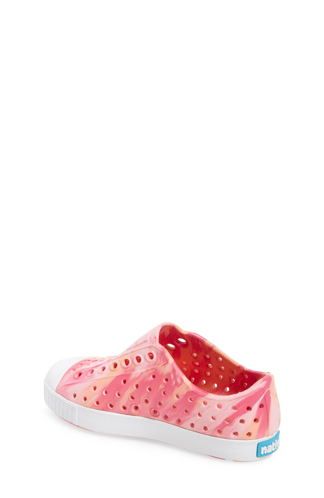Jefferson - Marbled Perforated Slip-On,                             Alternate thumbnail 110, color,