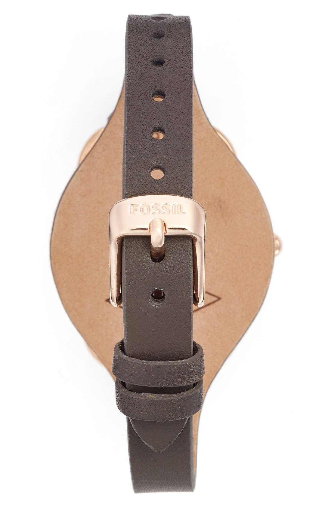 'Tailor' Multifunction Leather Strap Watch, 35mm,                             Alternate thumbnail 11, color,