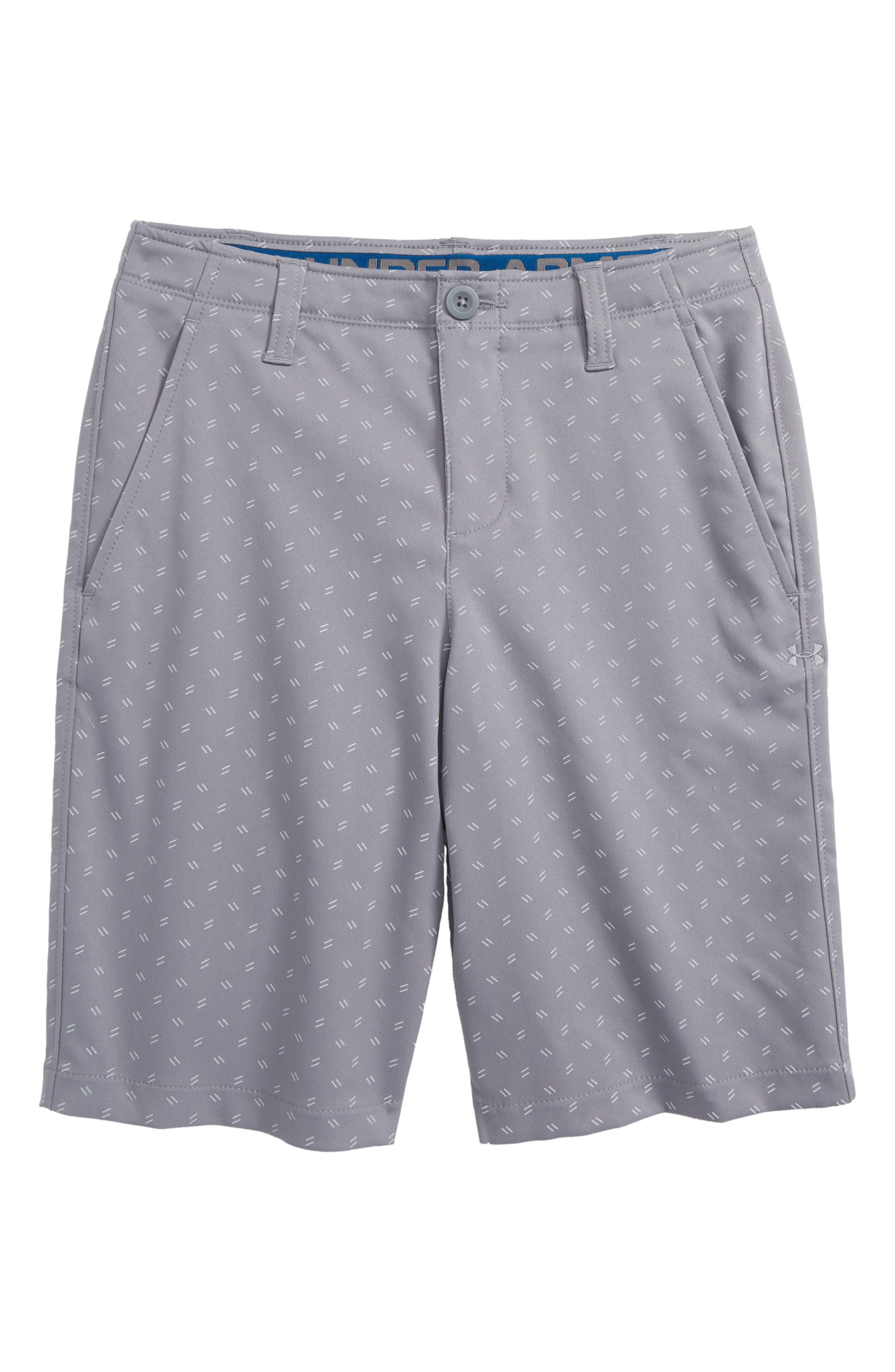 Boys Under Armour Match Play Golf Shorts