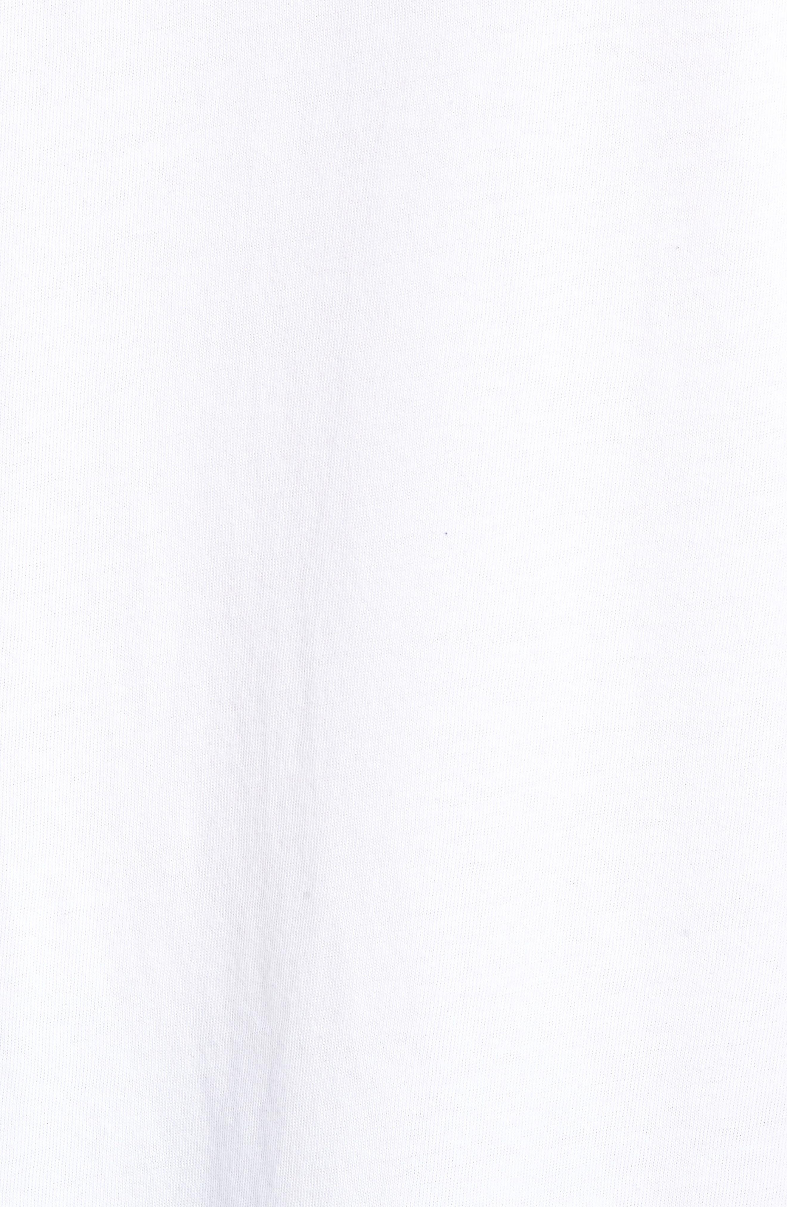 x Justin Timberlake Logo Graphic T-Shirt,                             Alternate thumbnail 5, color,                             FRESH LEAVES WHITE