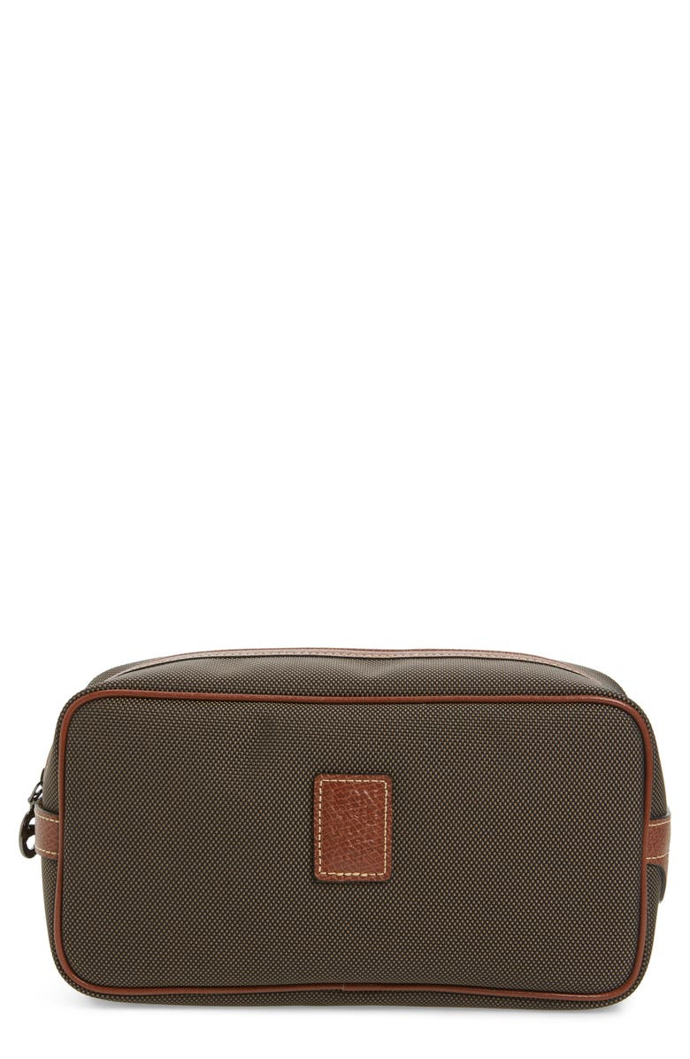 0637fe4b21 Longchamp Boxford Canvas   Leather Cosmetics Case