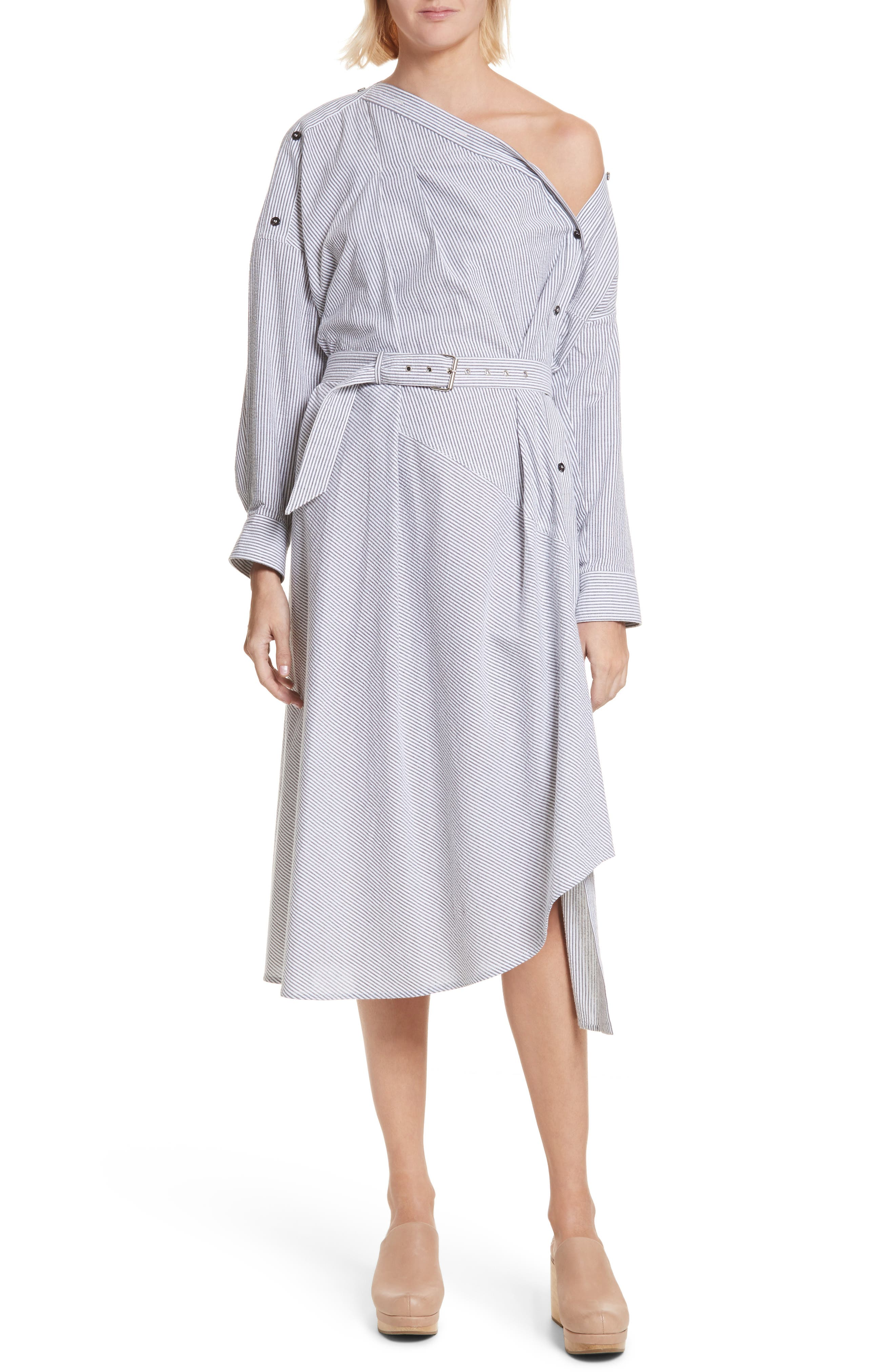 Welcome Asymmetrical Dress,                             Main thumbnail 1, color,                             001