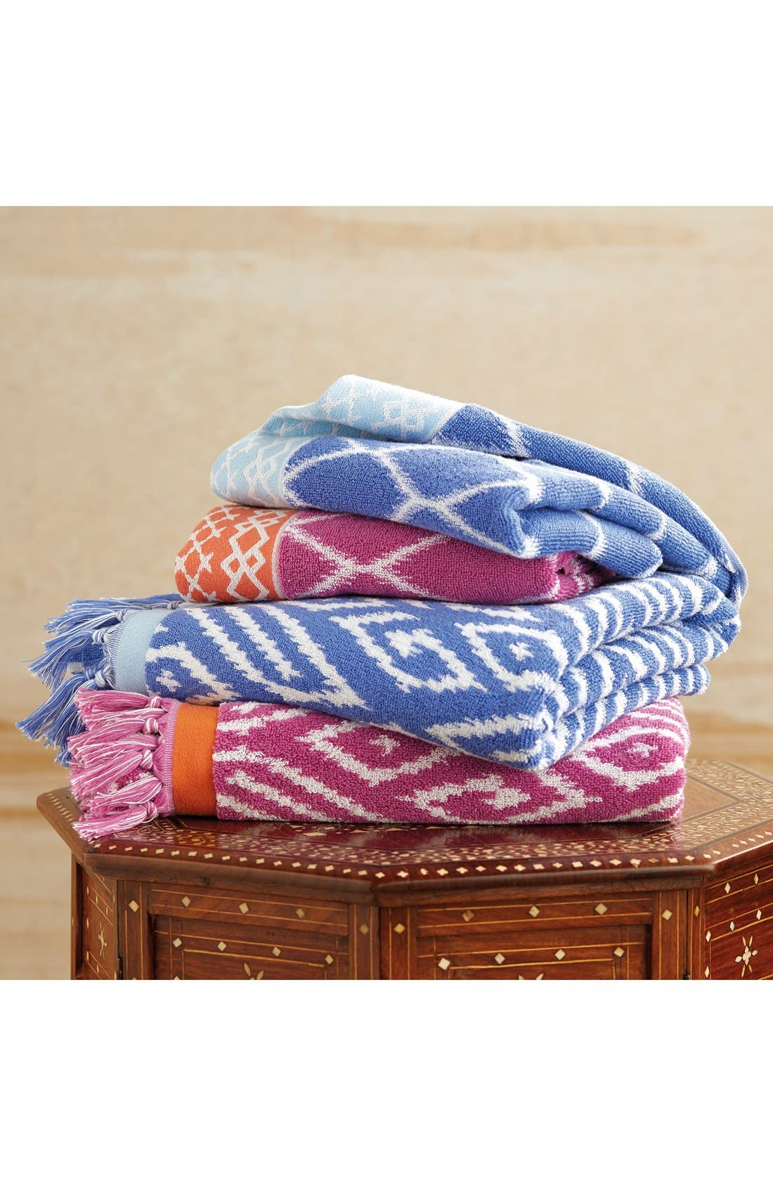 'Kalasin' Turkish Cotton Bath Towel,                             Alternate thumbnail 2, color,                             430