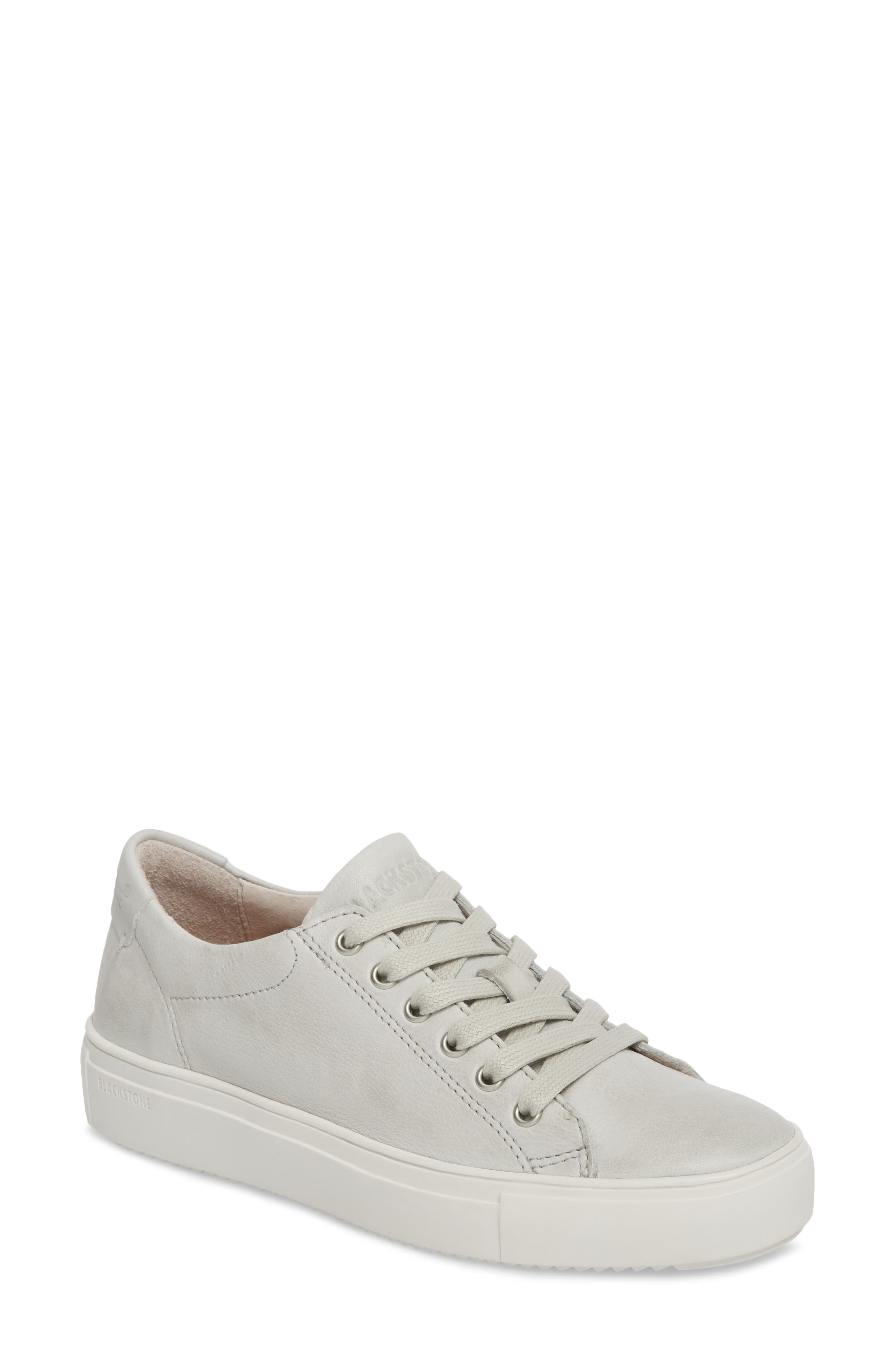 PL71 Low Top Sneaker,                         Main,                         color, ICE GREY LEATHER