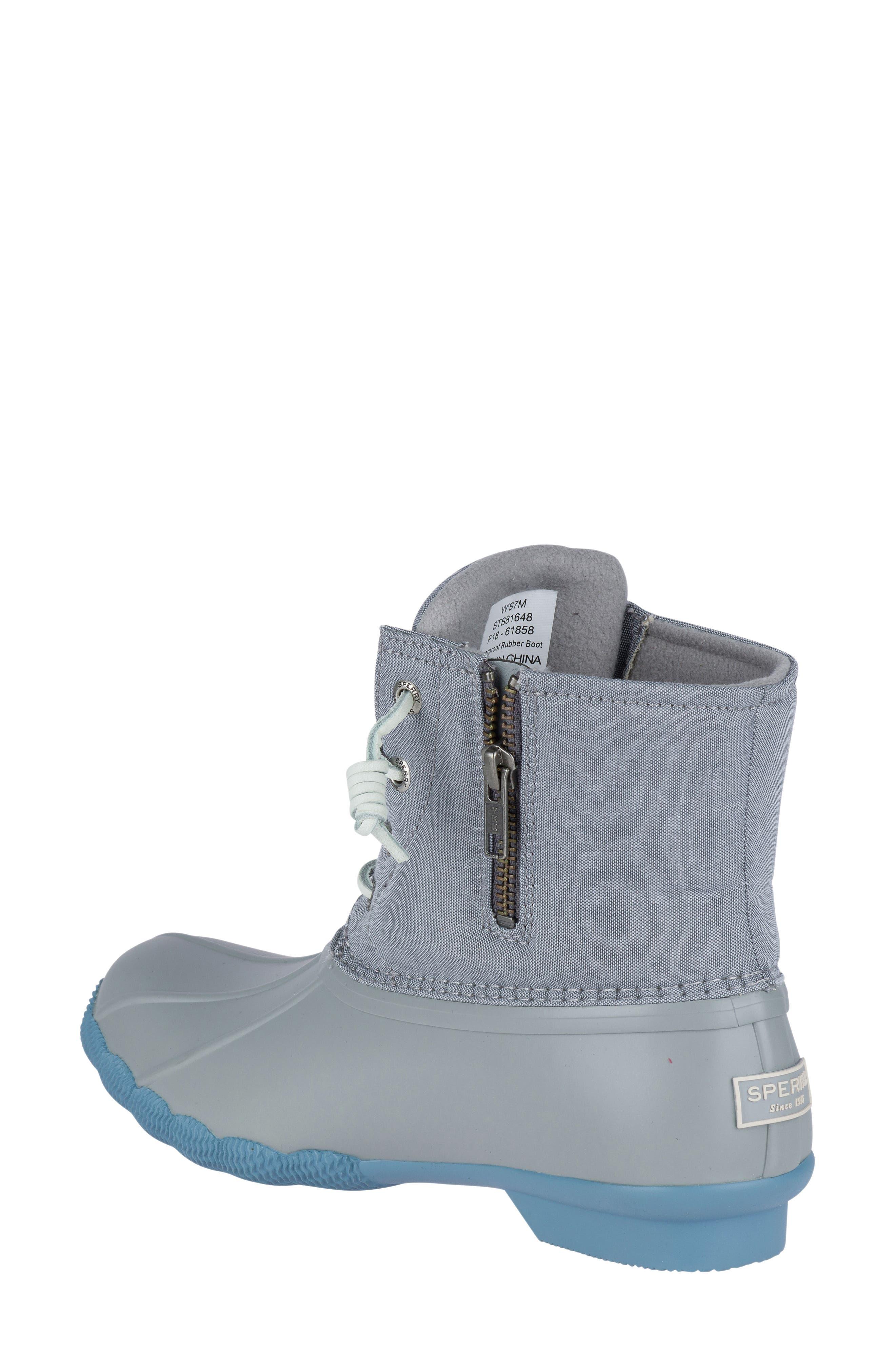 'Saltwater' Waterproof Rain Boot,                             Alternate thumbnail 54, color,