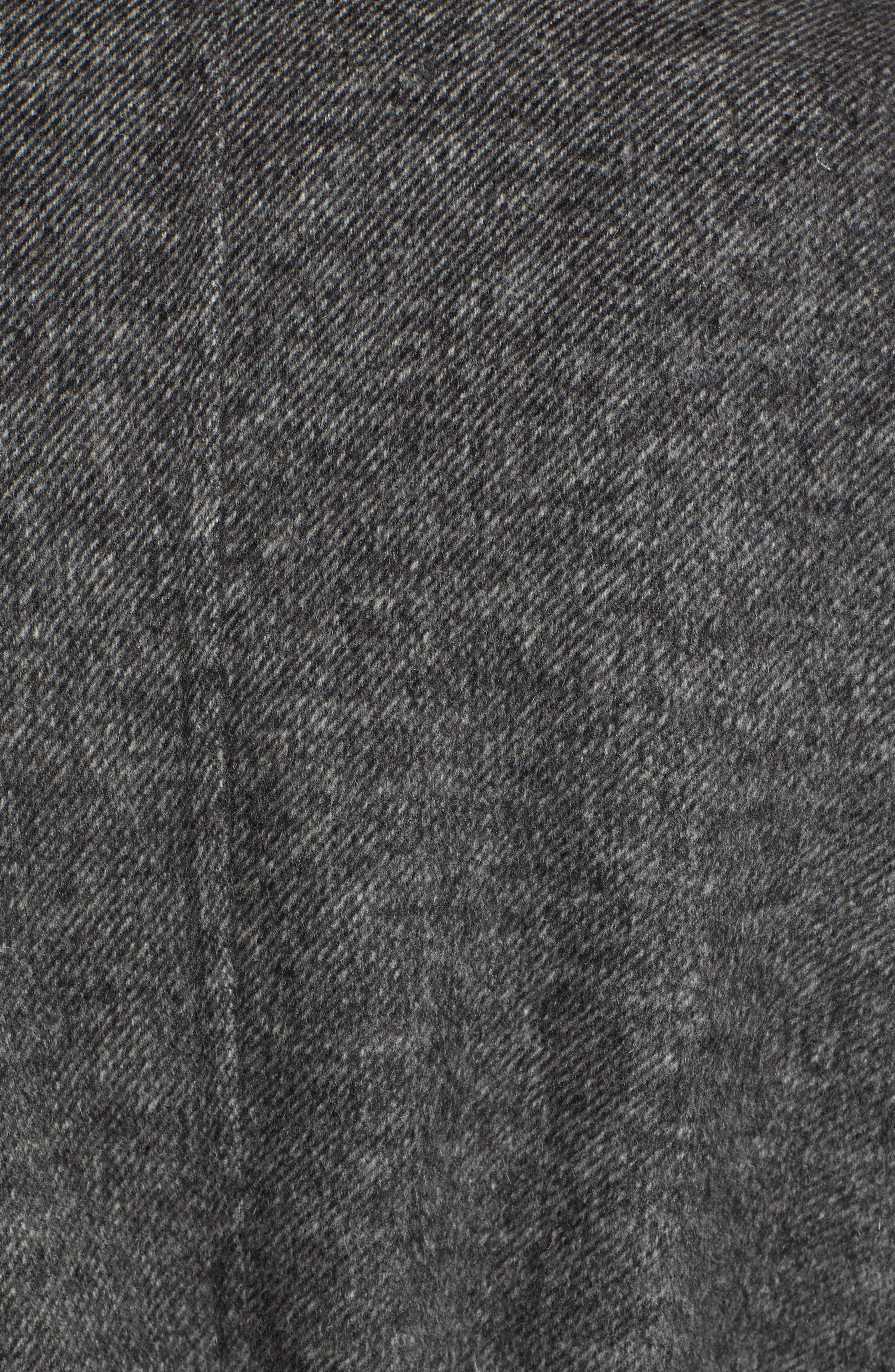 Elliot Wool Blend Wrap Coat,                             Alternate thumbnail 7, color,                             022