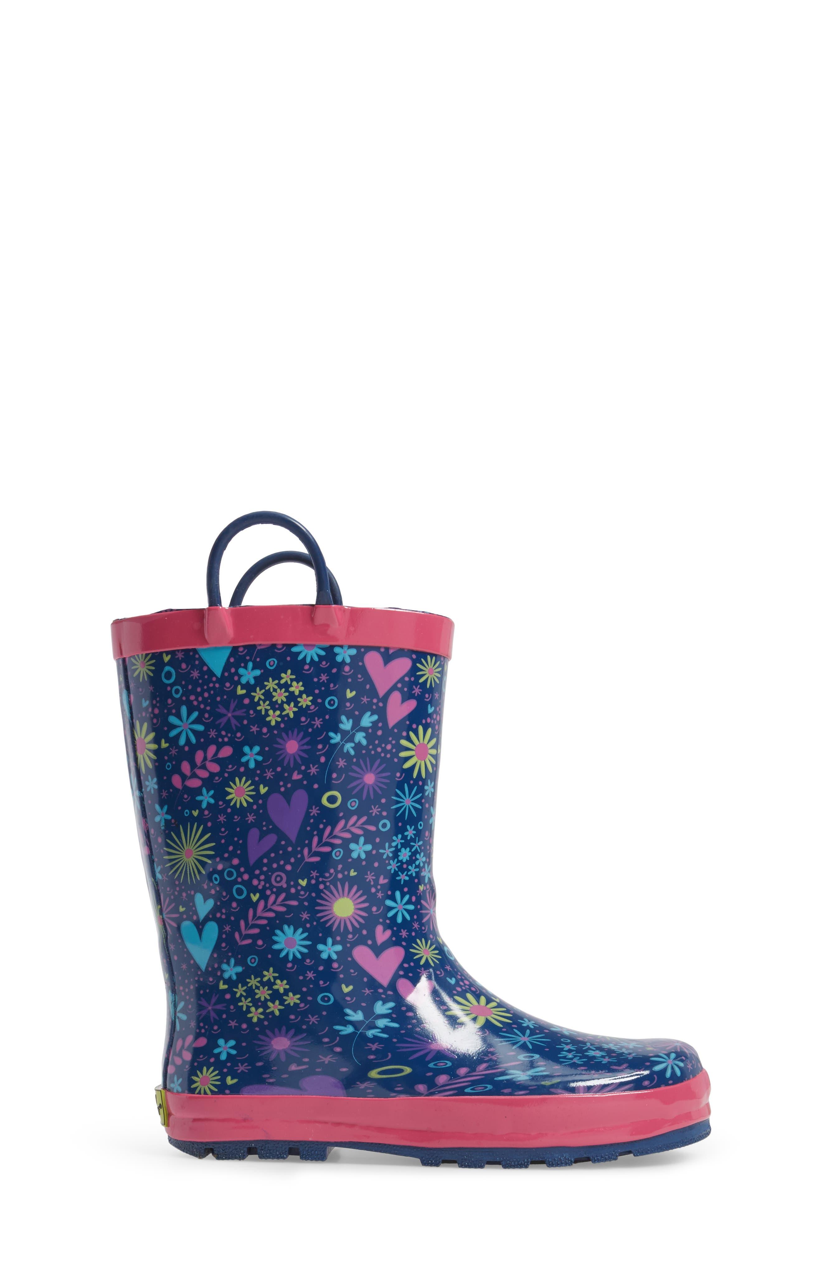 Willow Rain Boot,                             Alternate thumbnail 3, color,                             511